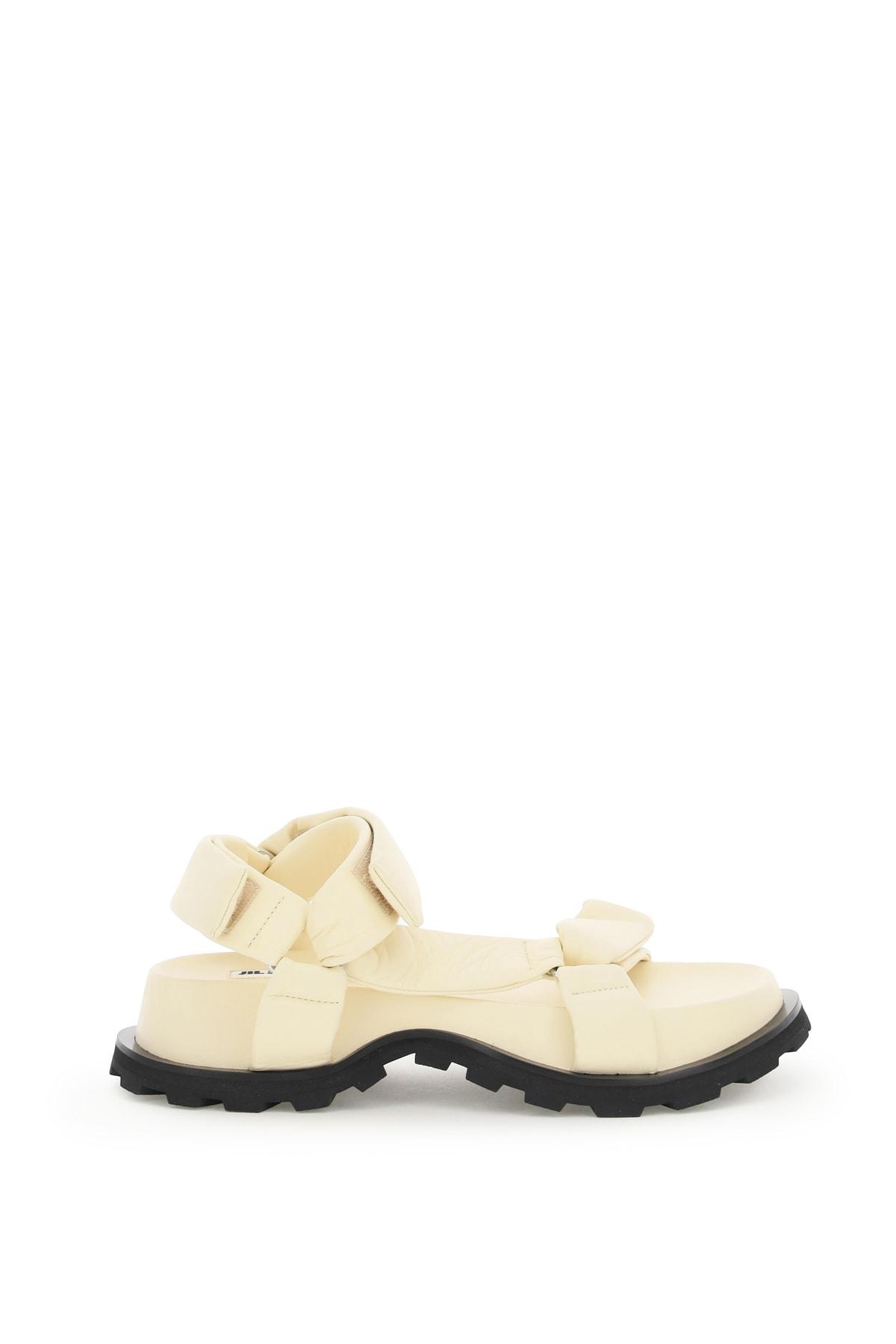 Buy Jil Sander Nomad Platform Sandals online, shop Jil Sander shoes with free shipping