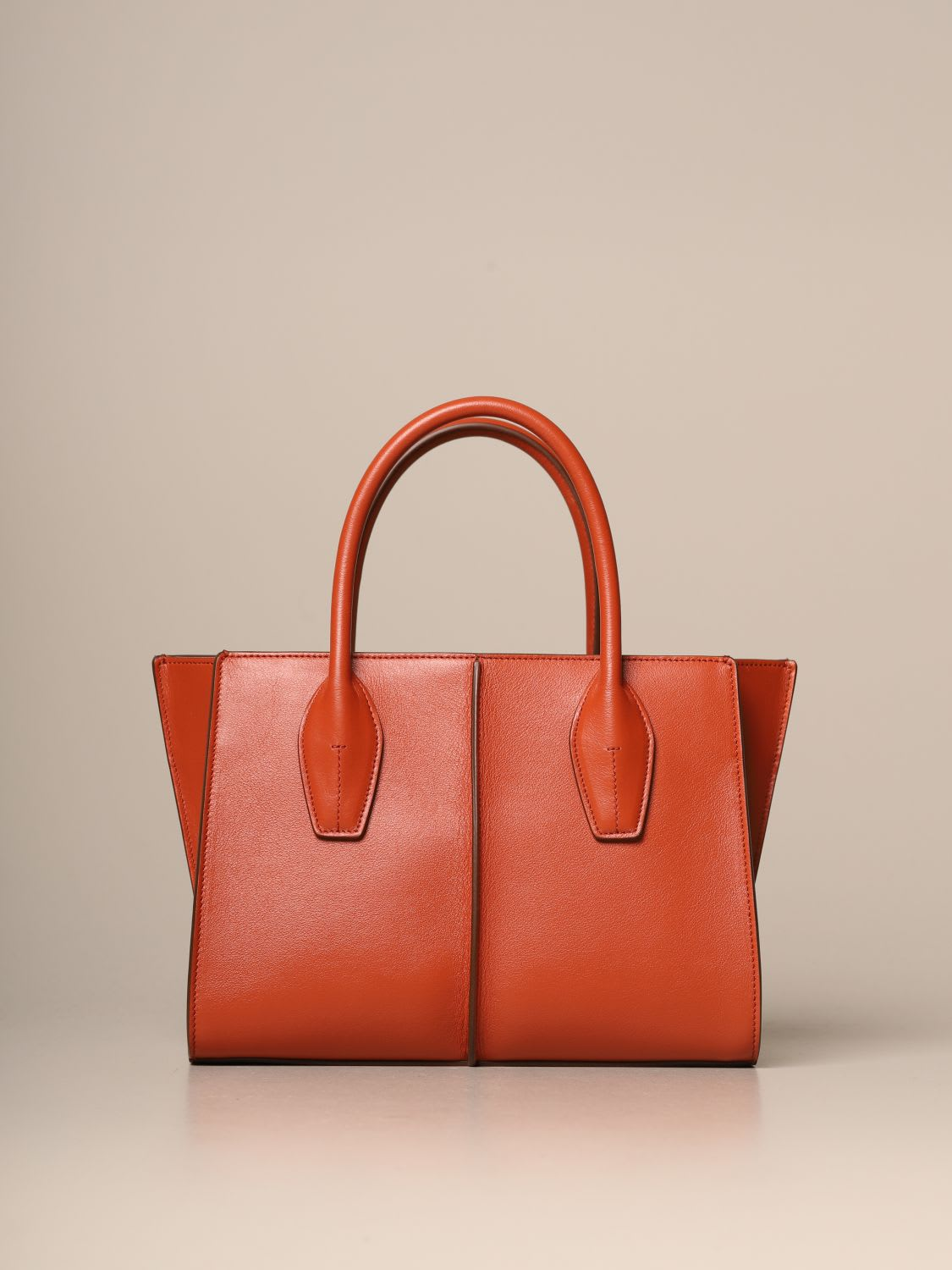 Tods Tote Bags Tods Shopping Bag In Leather With Shoulder Strap