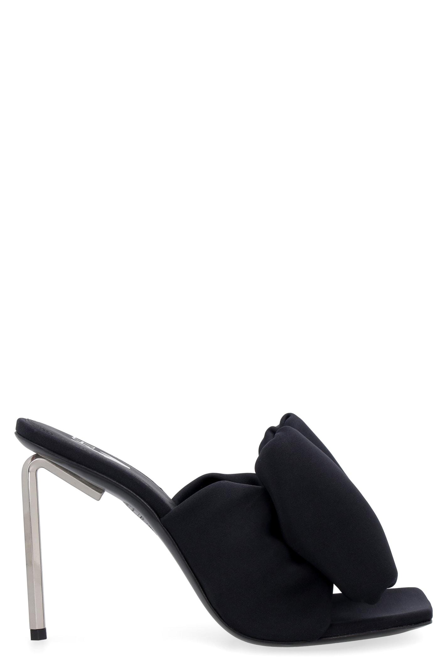 Off-White Allen Maxi-bow Detail Mules