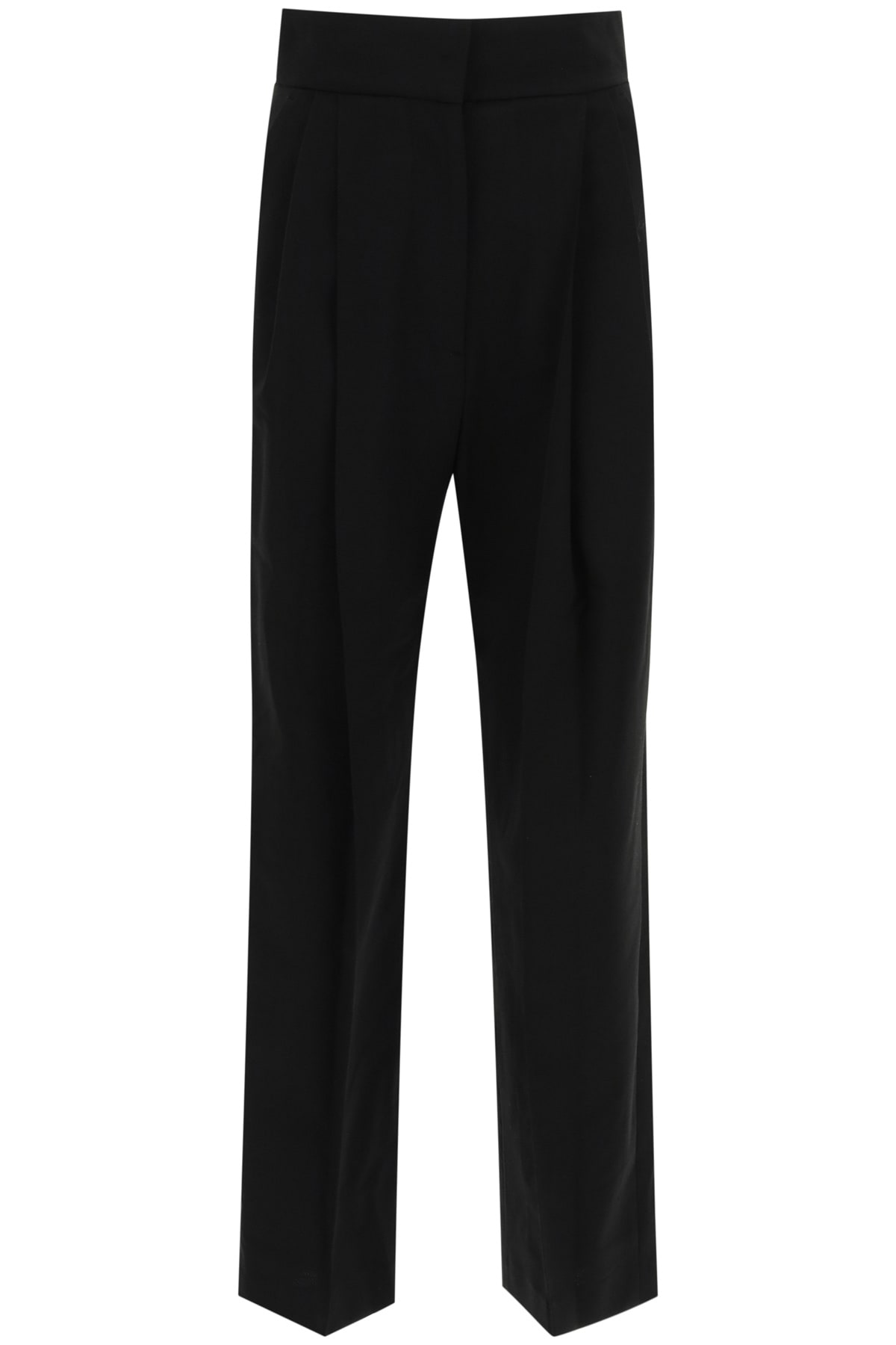 Low Classic PINTUCK TROUSERS WITH PLEATS