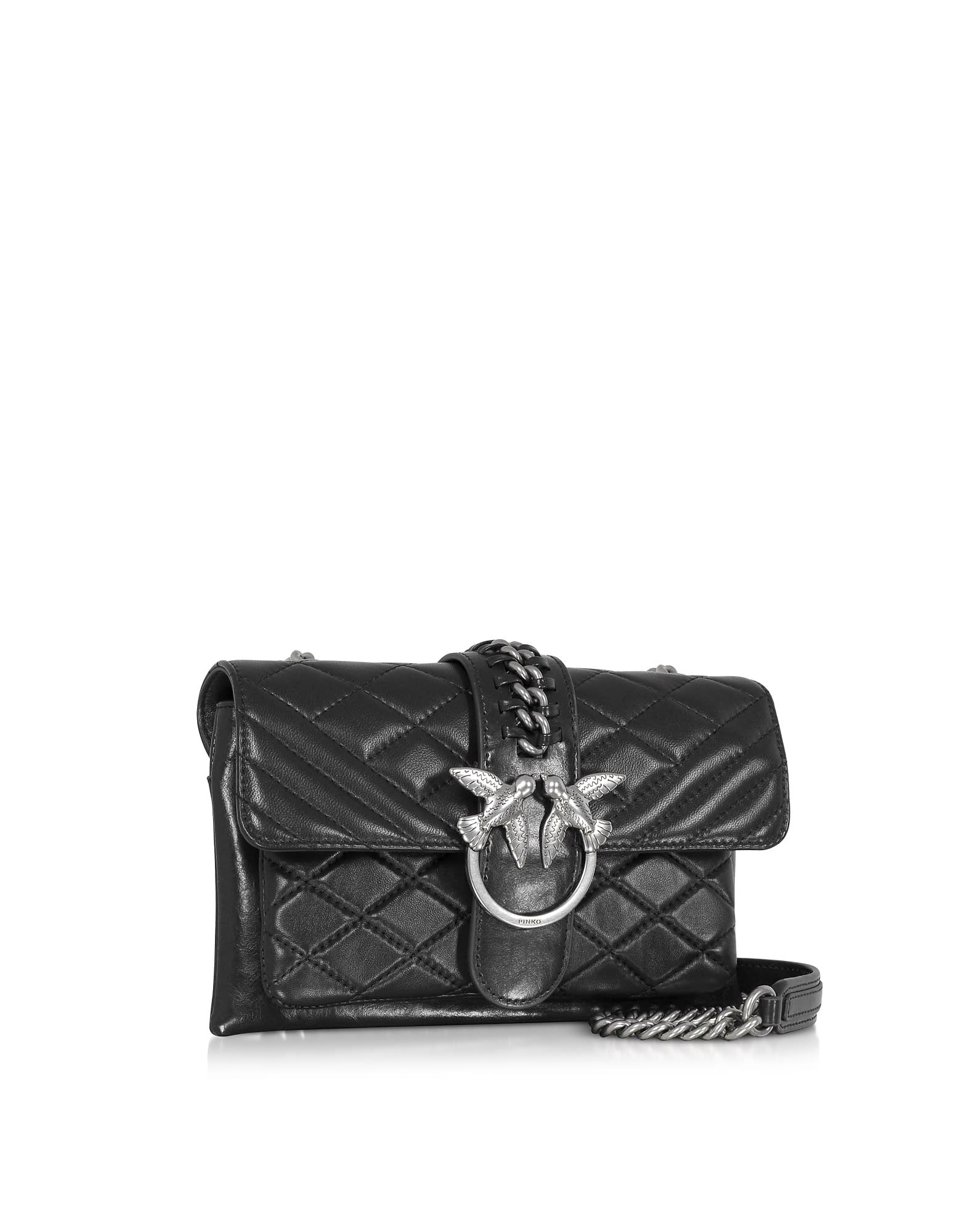 2e3517003a Pinko Mini Love Soft Mix Crossbody Bag