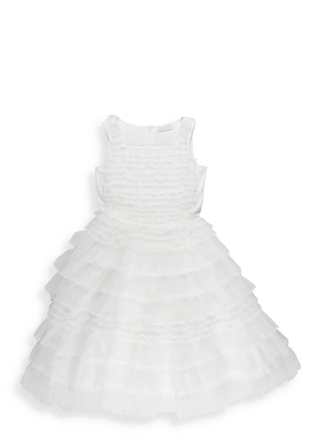 Monnalisa Tulle Galette Dress