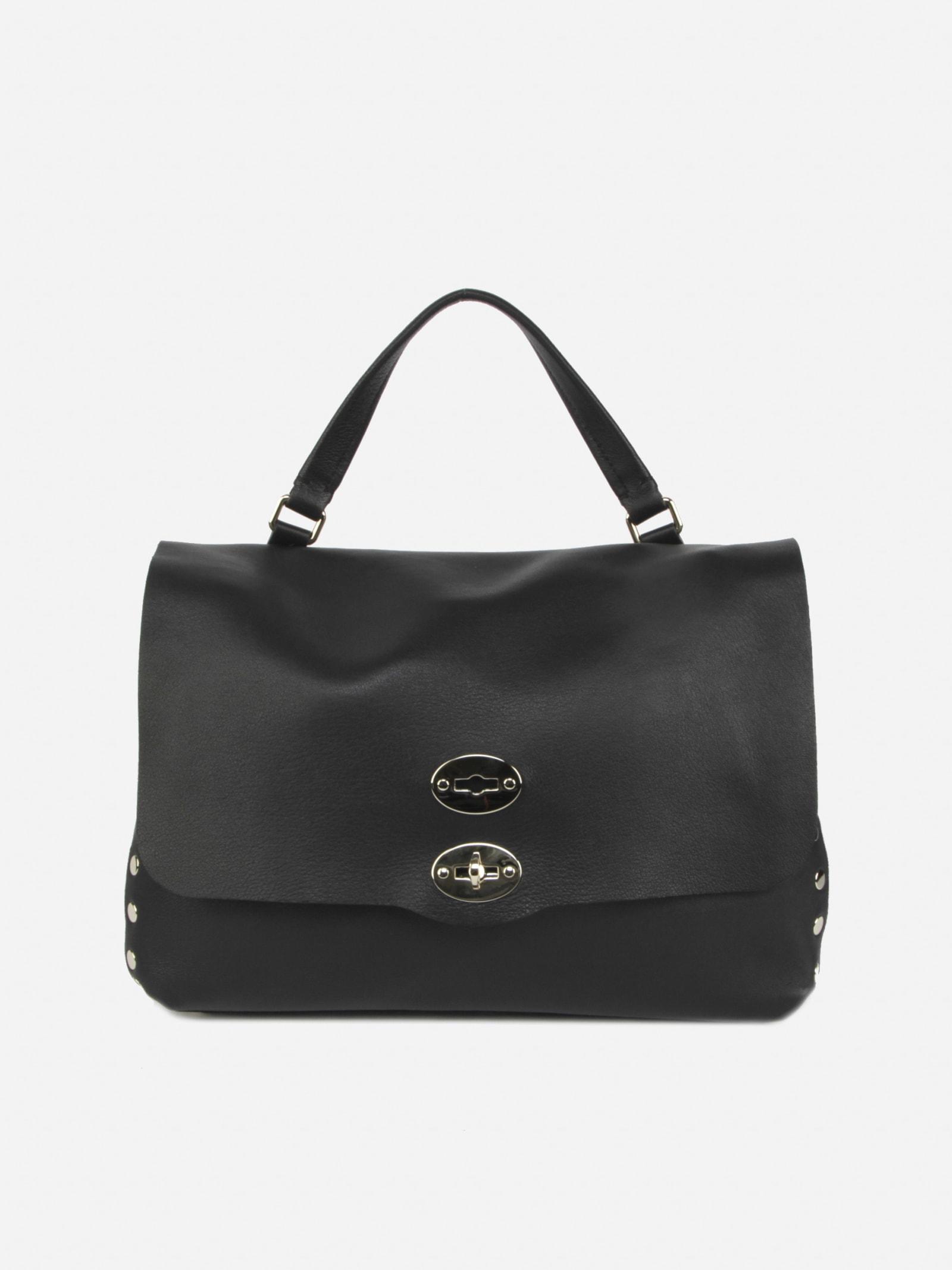 Zanellato Messenger Bag M Heritage Maratea Sand In Leather