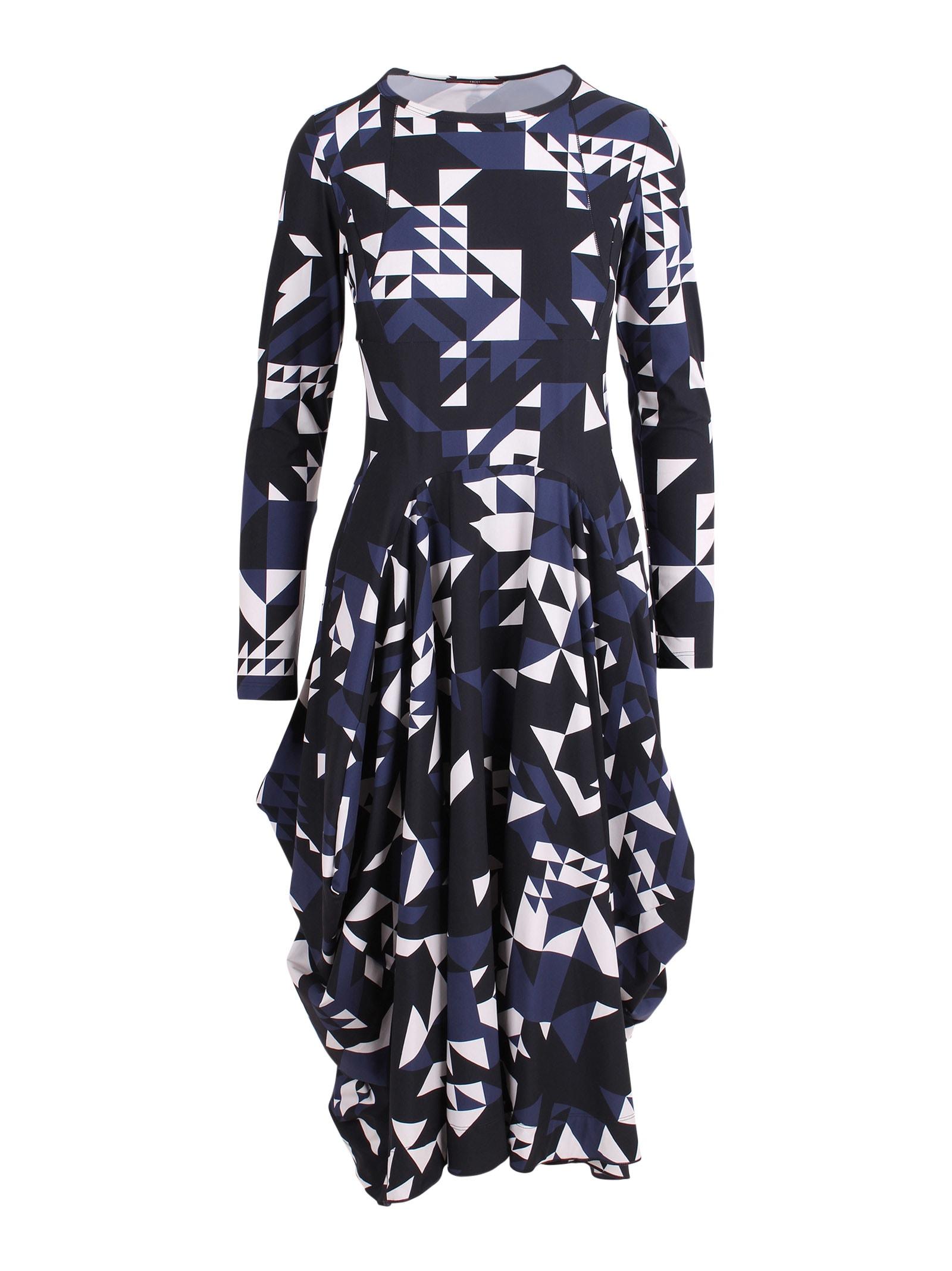Nylon Midi Dress