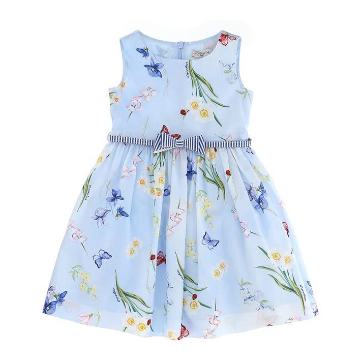 Buy Monnalisa Flowers Ramage Dress online, shop Monnalisa with free shipping