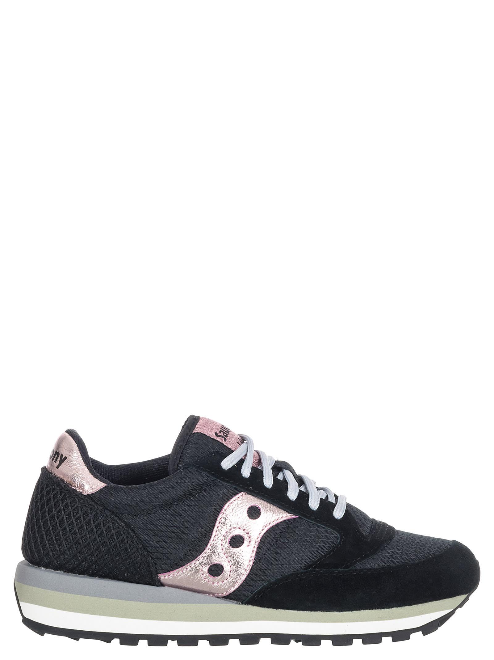 kauneus ostaa uusia kilpailukykyinen hinta Best price on the market at italist | Saucony Saucony Jazz Black/pink  Sneakers