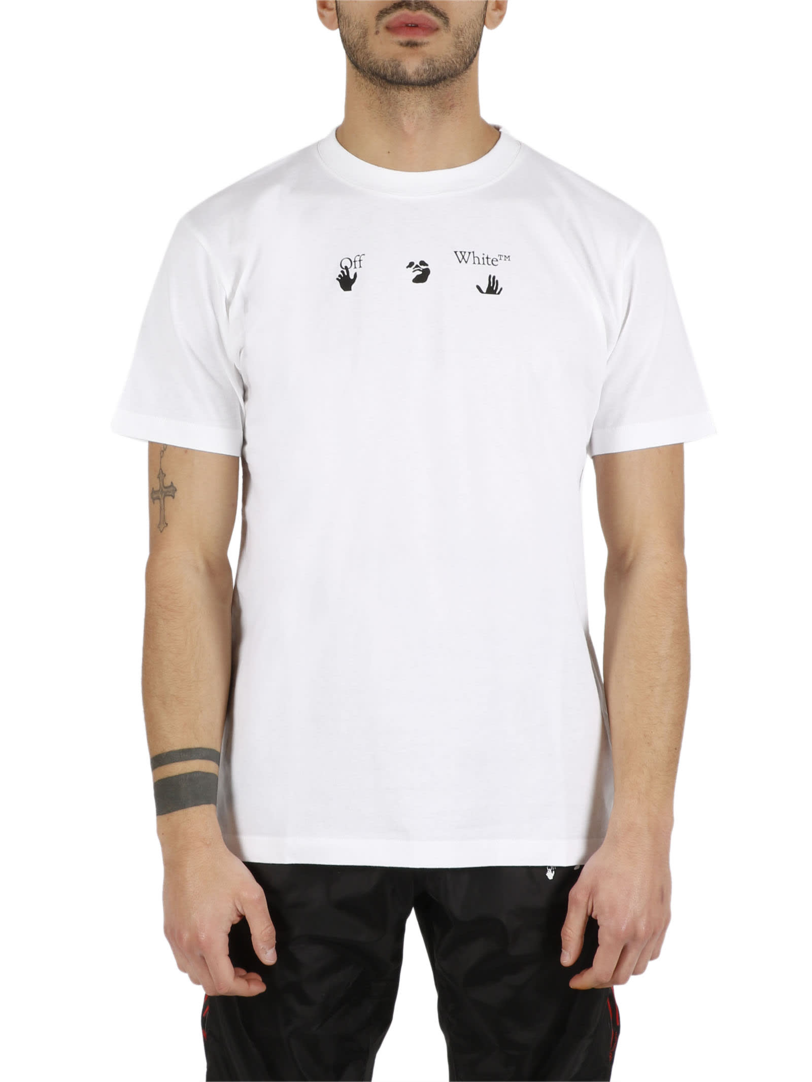 Off-White PEACE WORLDWIDE SS SLIM TEE