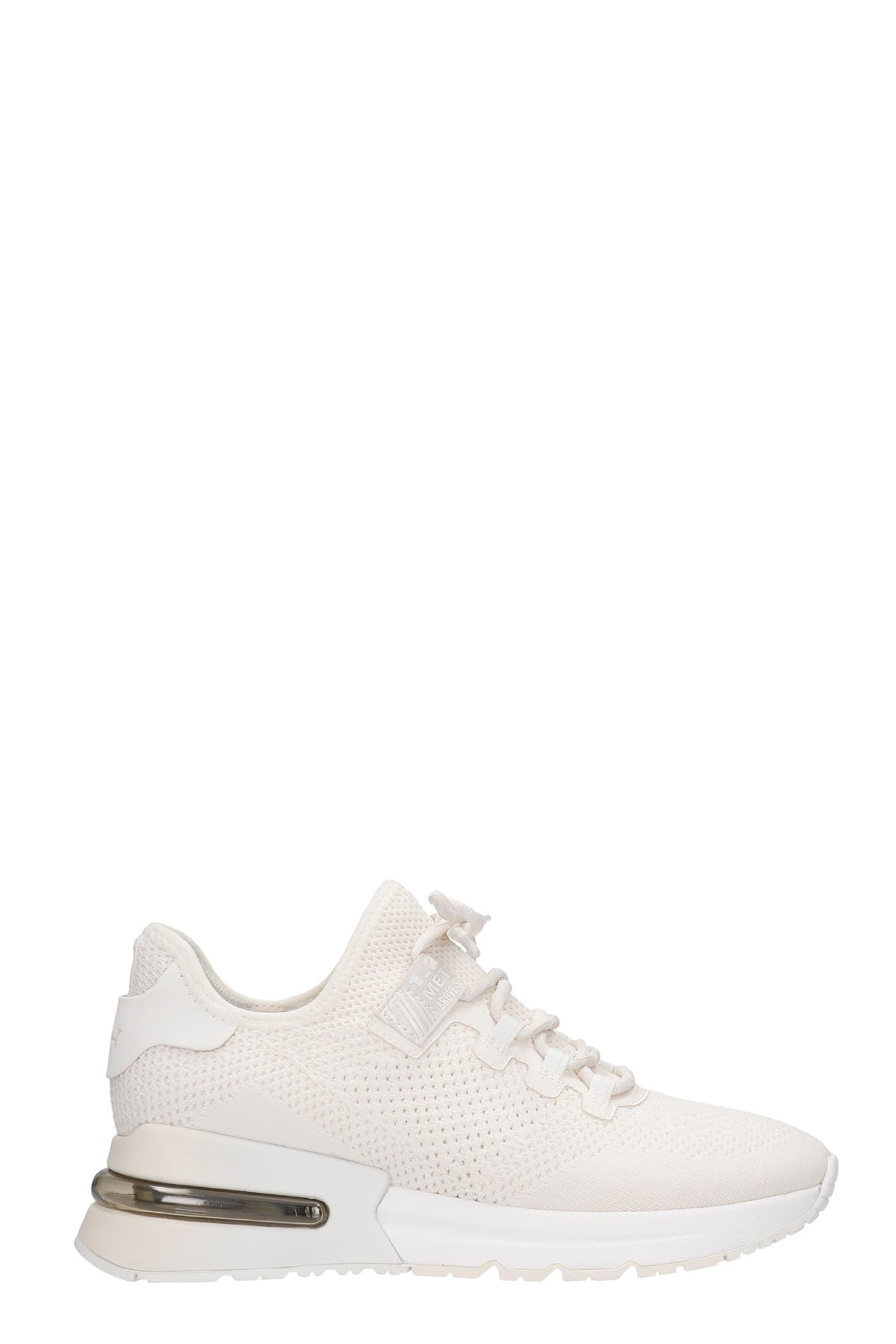 Ash Sneakers KRUSH DEGRADE SNEAKERS IN WHITE SYNTHETIC FIBERS