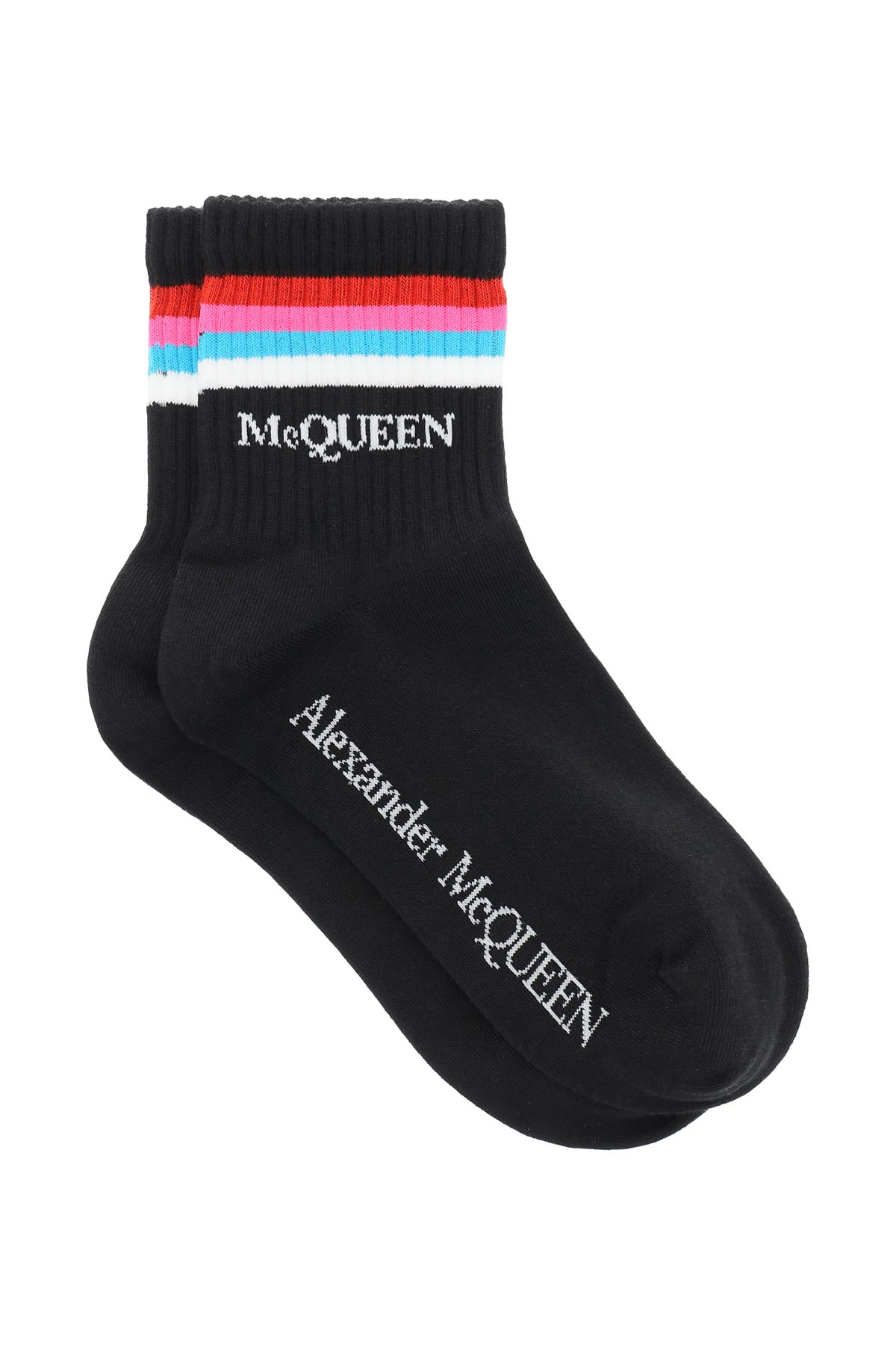 Alexander Mcqueen STRIPE SPORTS SOCKS