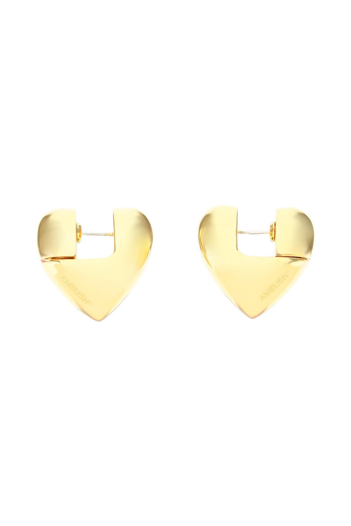 Ambush Earrings SMALL SOLID HEART EARRINGS