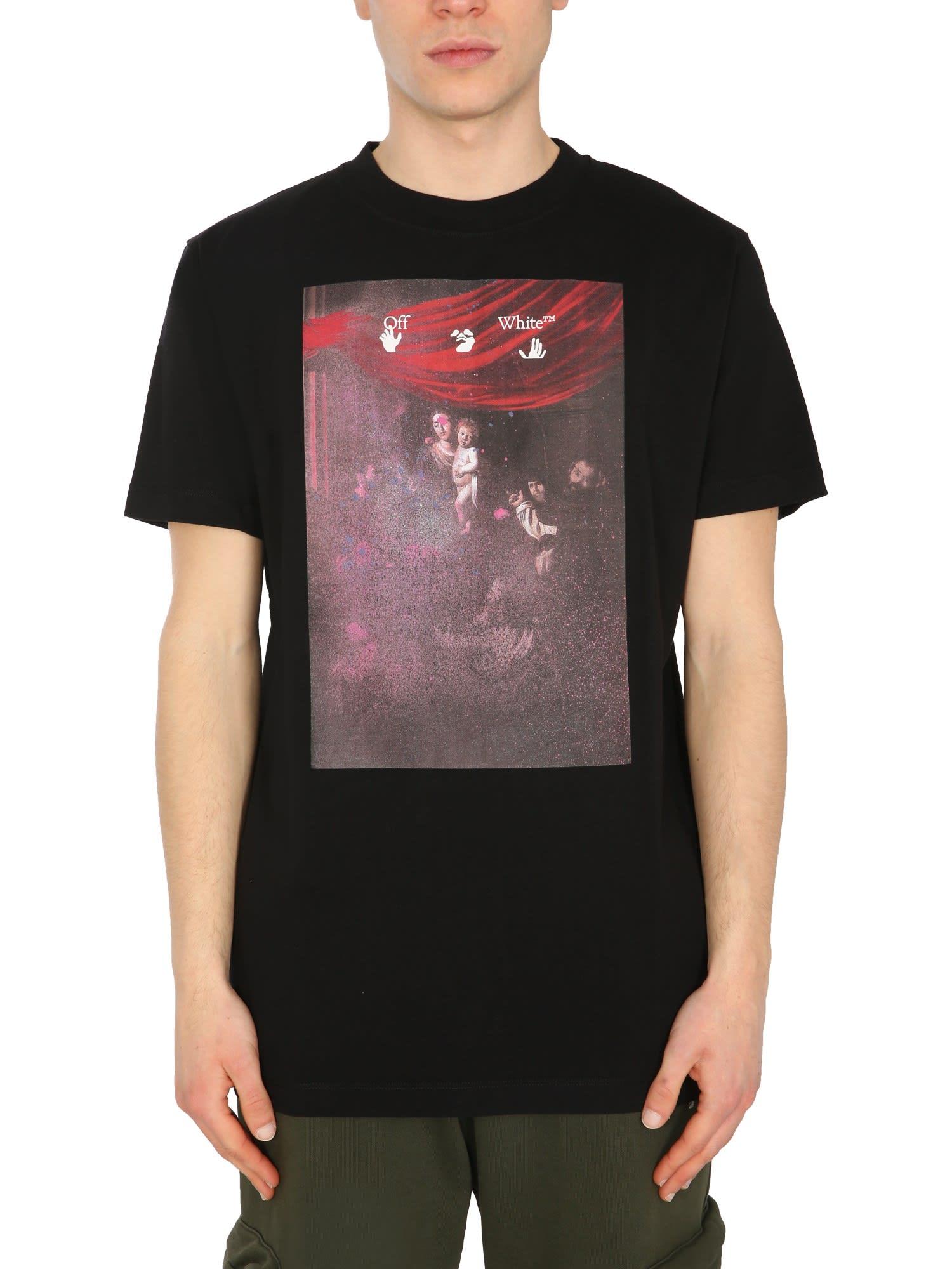 Off-White T-shirts CREW NECK T-SHIRT