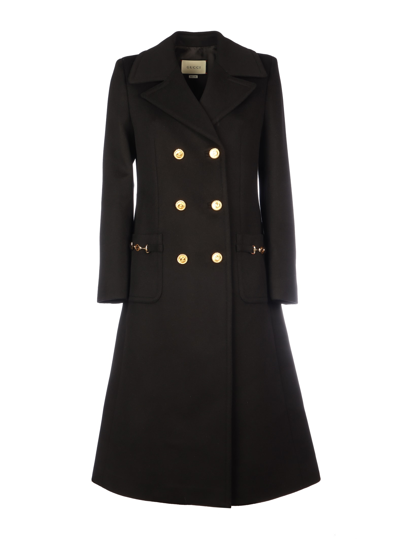 Gucci Logo Zumi Long Coat
