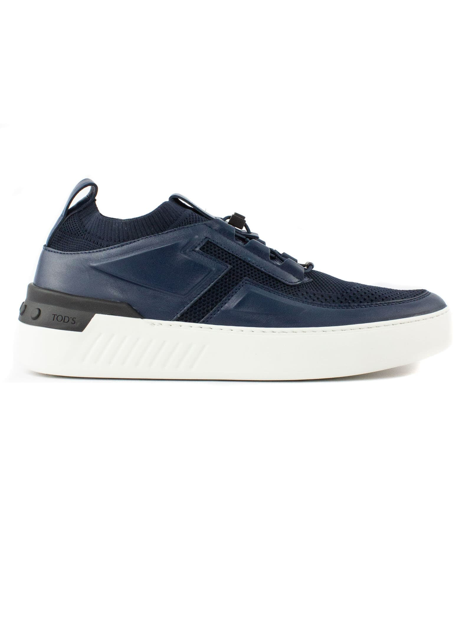 Tod's Leathers BLUE LEATHER NO CODE X SNEAKERS
