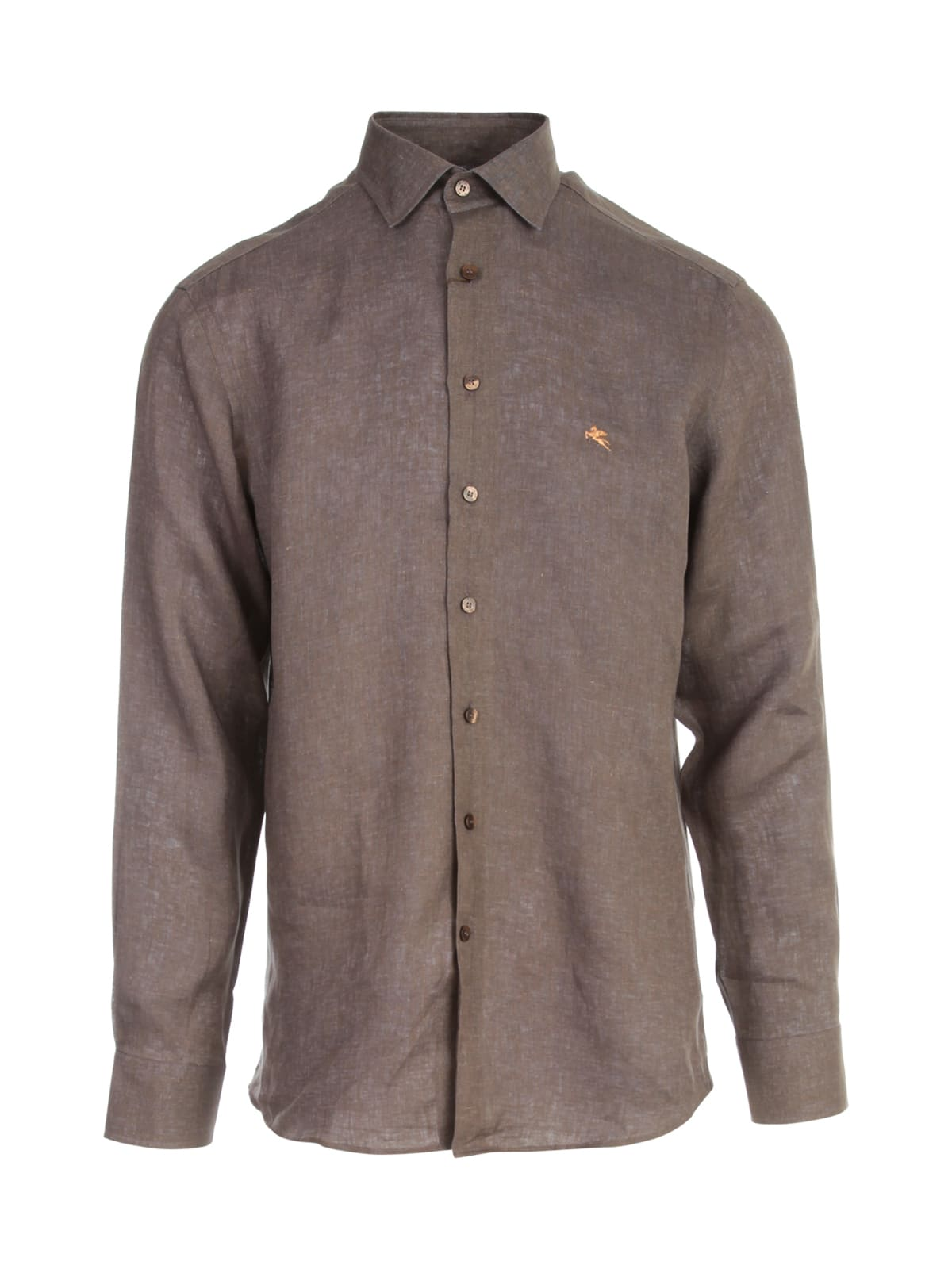 Etro REGULAR LOGO SHIRT