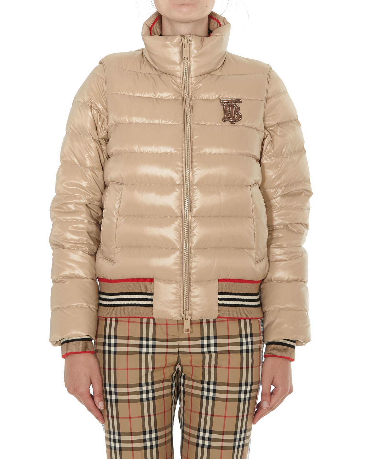 Burberry Logo Down Jacket