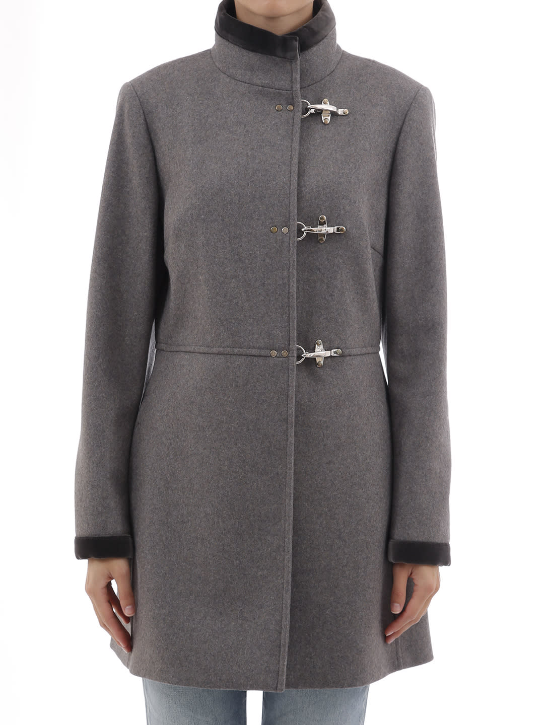 Fay Coat Virginia Grey
