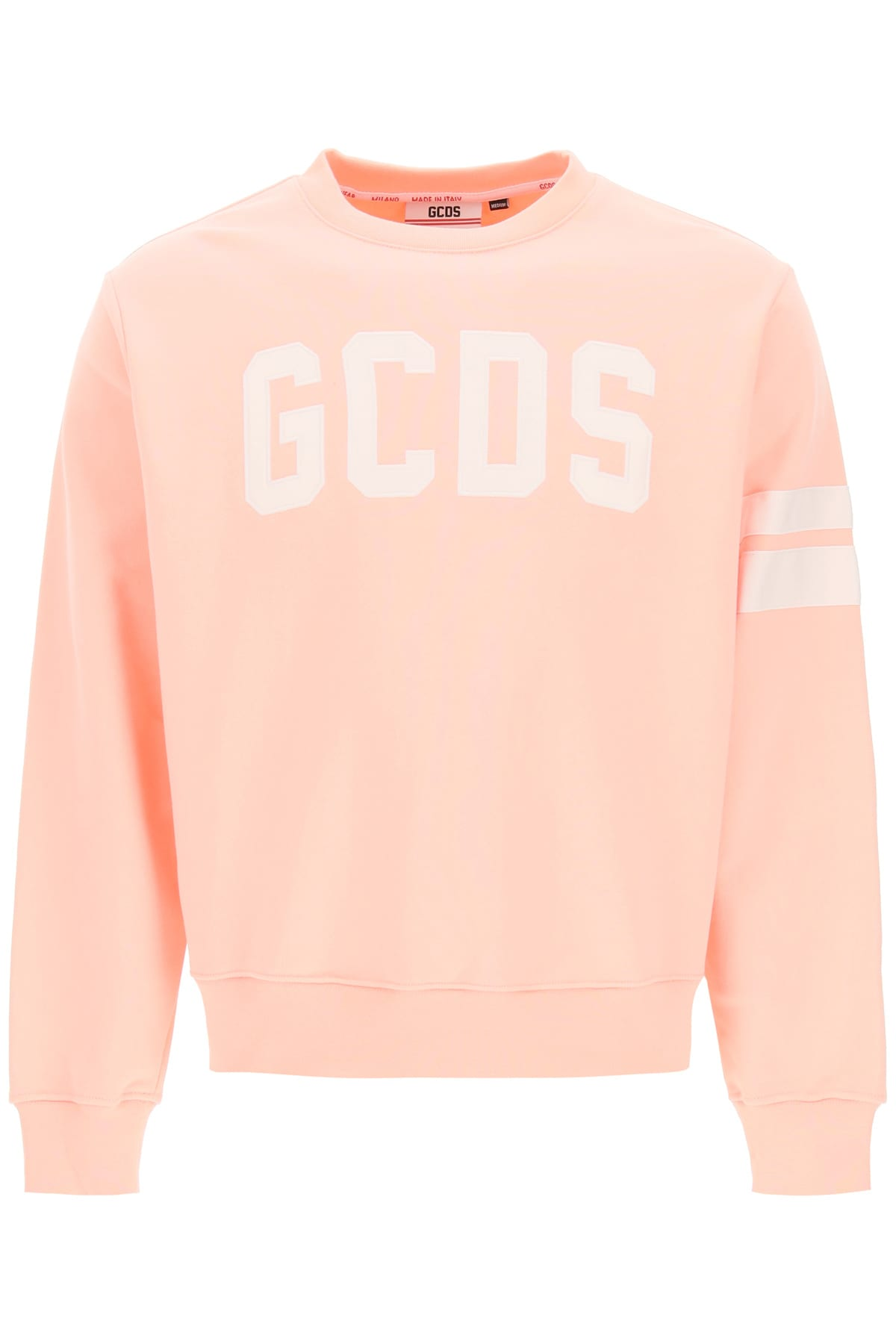 Gcds CREW-NECK SWEATSHIRT WITH LOGO