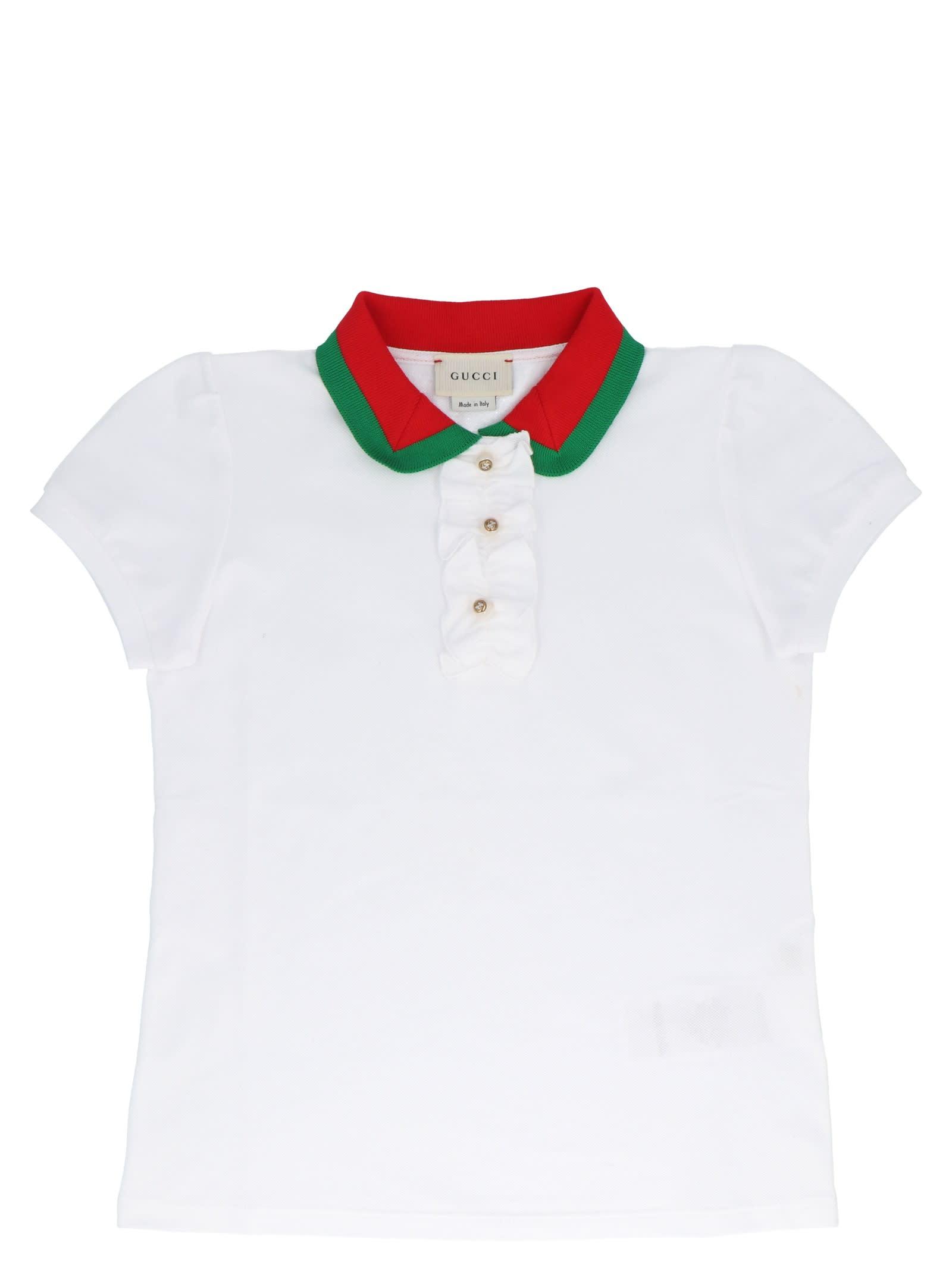47c5be5f2 Gucci Gucci Polo - White - 10908373 | italist