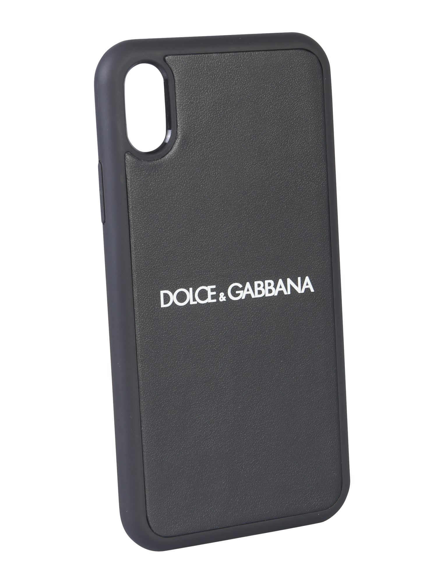 new concept f7747 a2a8a Best price on the market at italist | Dolce & Gabbana Dolce & Gabbana  Iphone Xr Cover With Logo