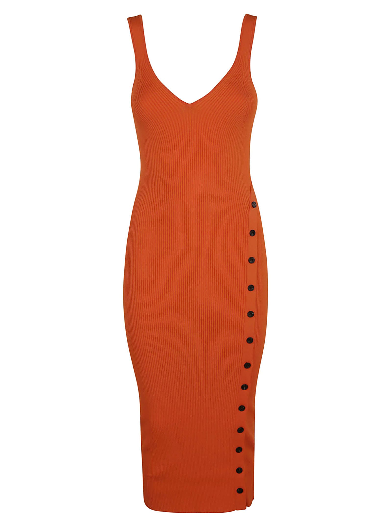 Buy self-portrait Ribbed Knit Sleeveless Dress online, shop self-portrait with free shipping
