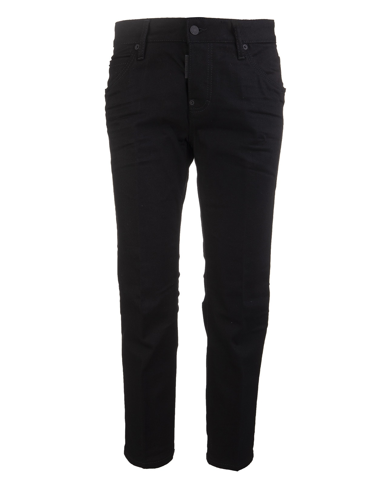 Dsquared2 BLACK COOL GIRL CROPPED WOMAN JEANS