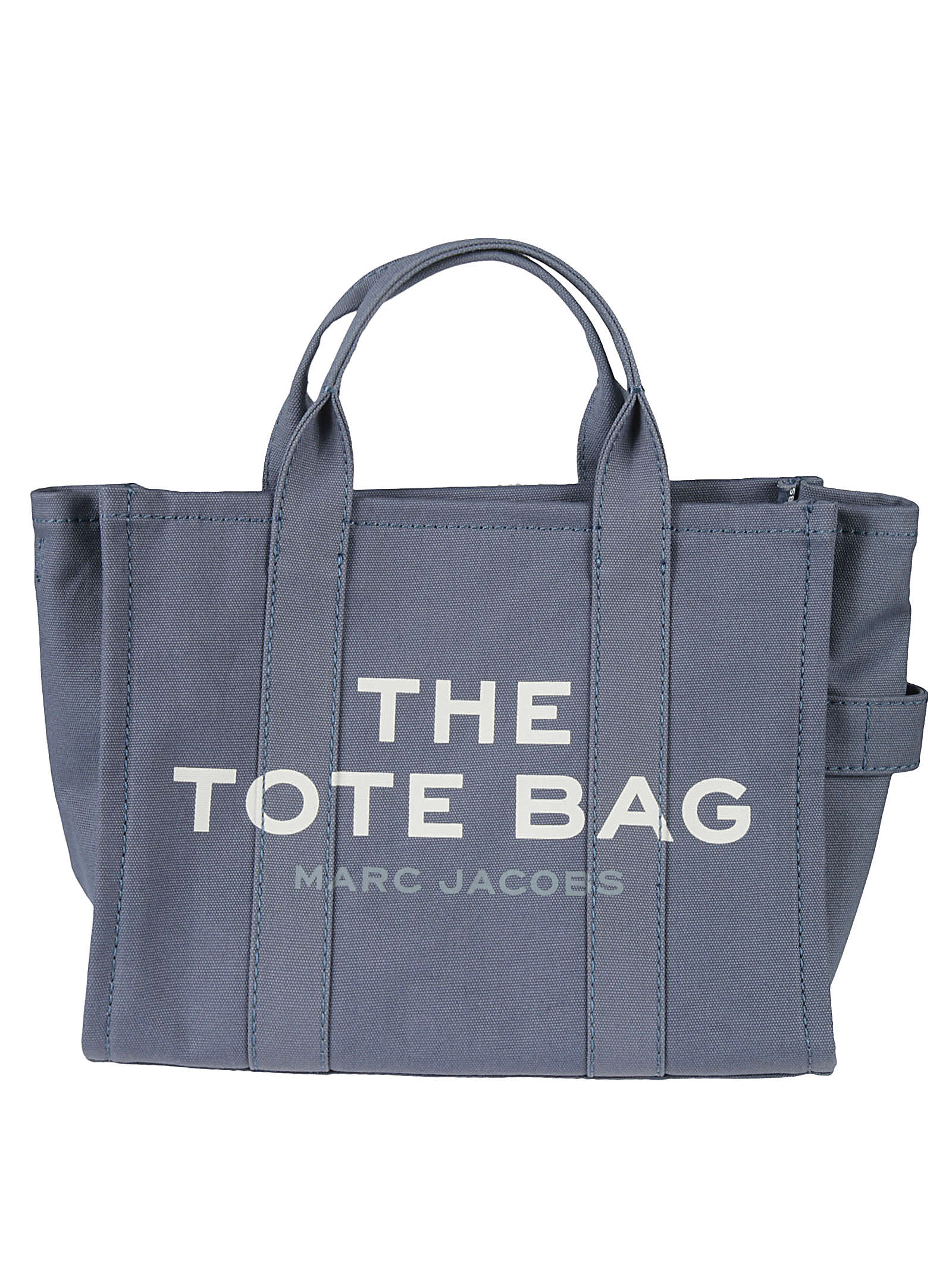 Marc Jacobs Small Traveler Tote In Blue Shadow