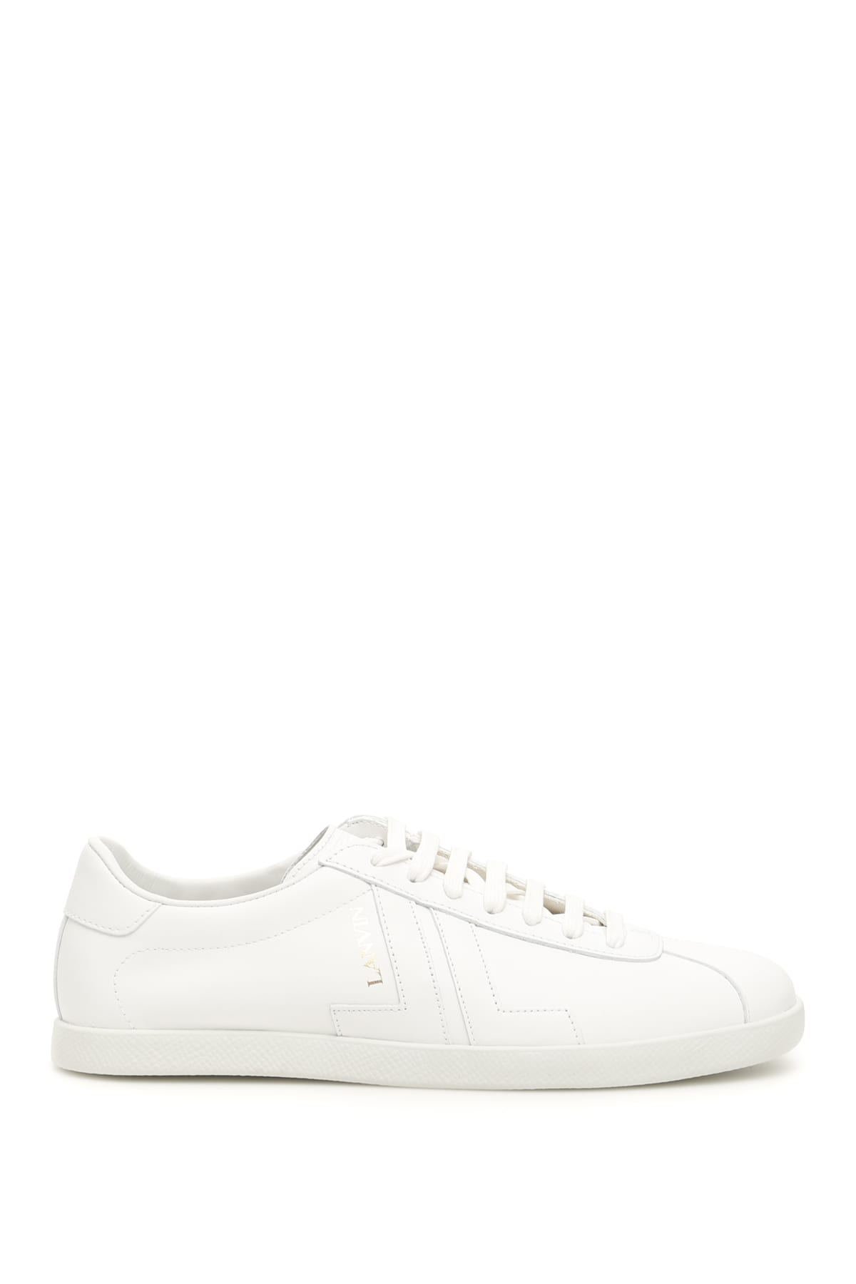Lanvin Leather Jl Sneakers