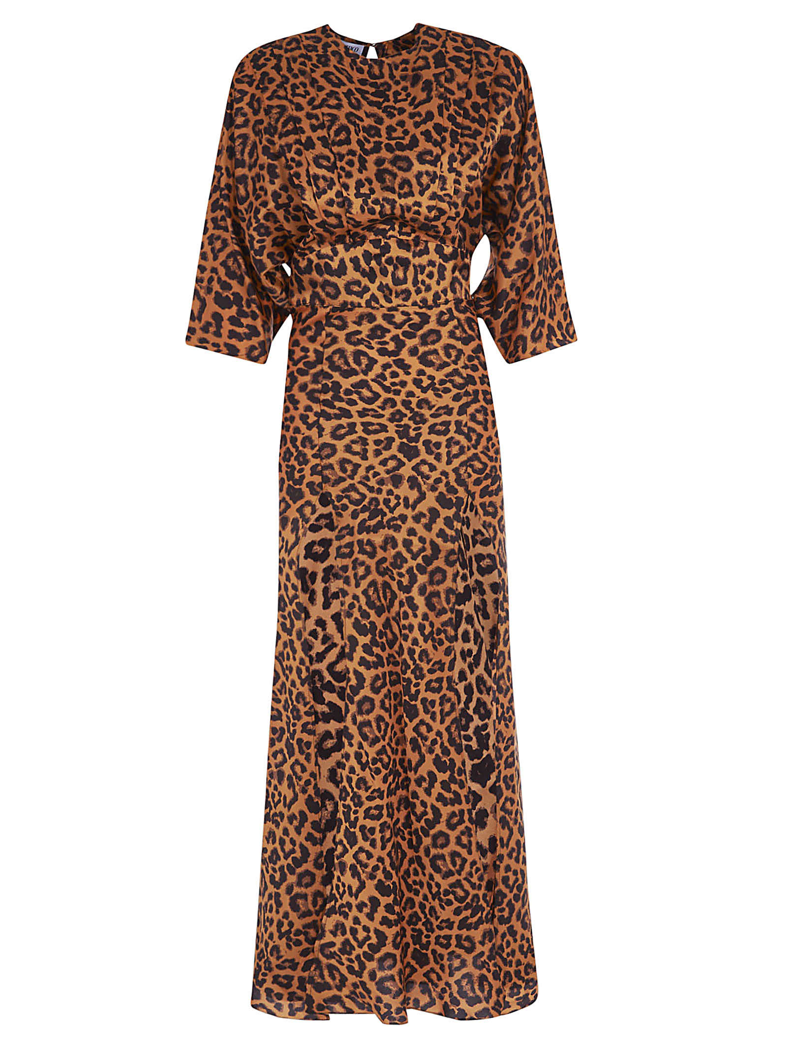 Buy The Attico Leopard Print Maxi Dress online, shop The Attico with free shipping