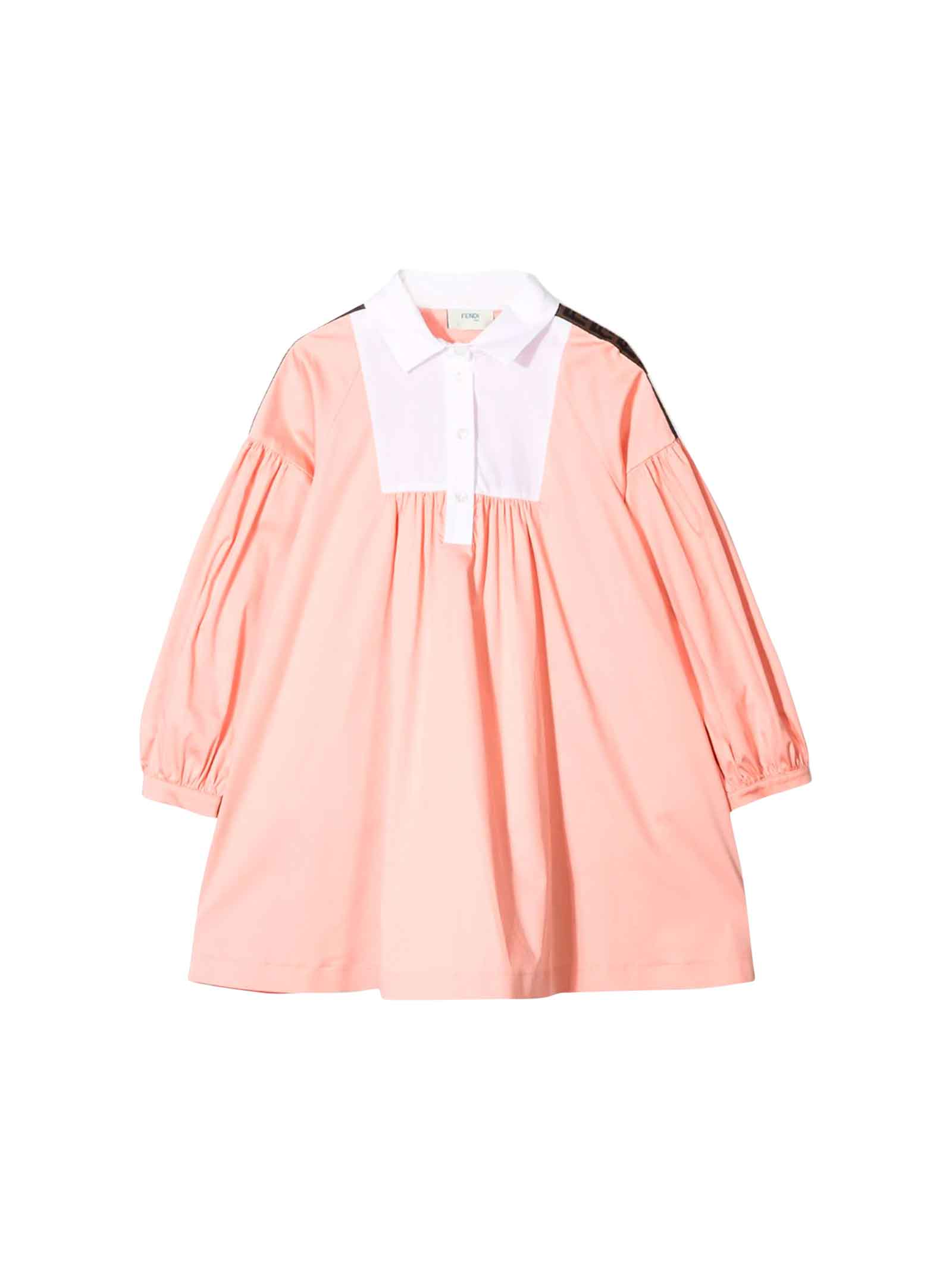 Fendi Pink Peach Dress