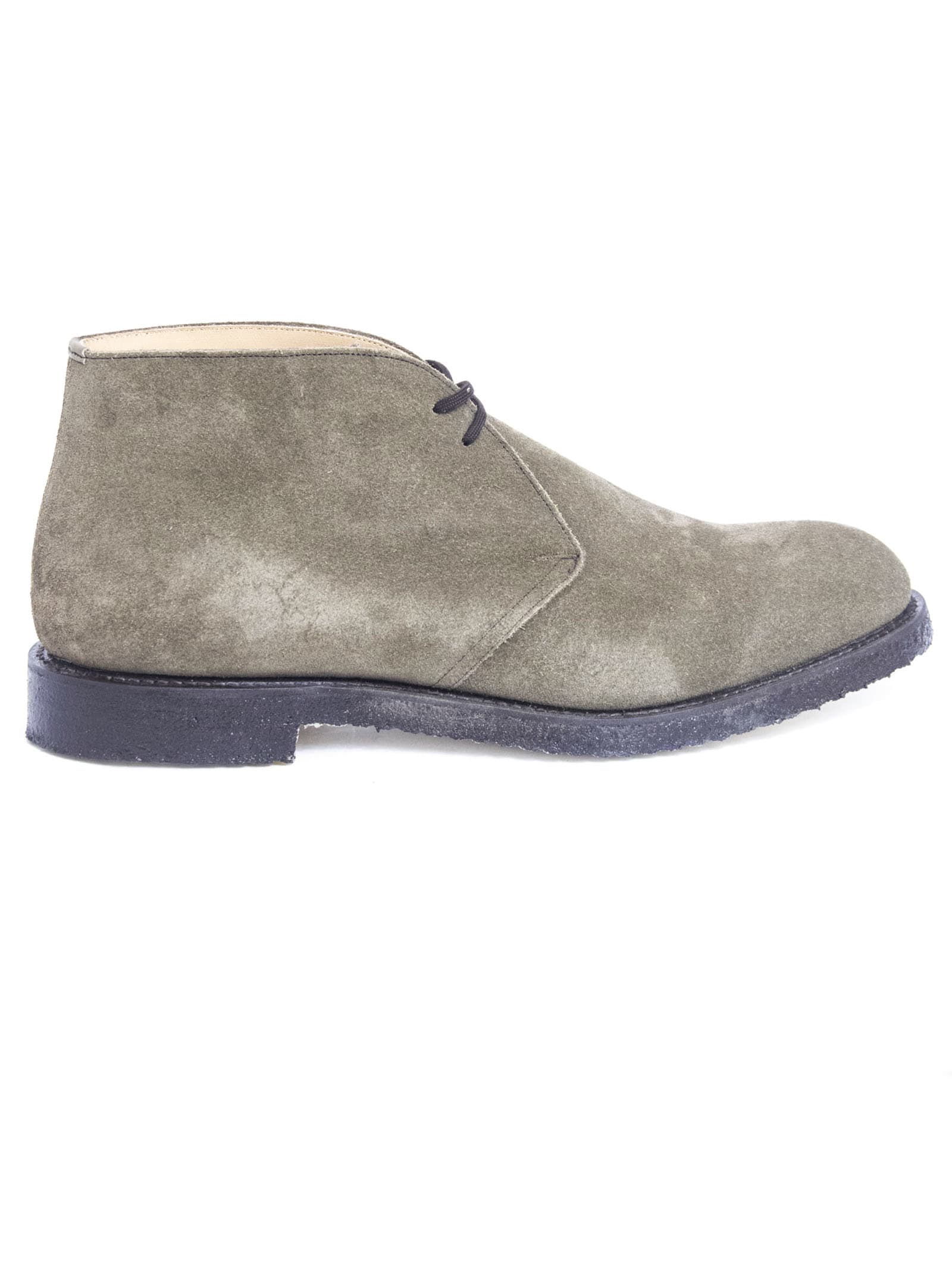 Churchs Ryder 81 Grey Suede Desert Boot
