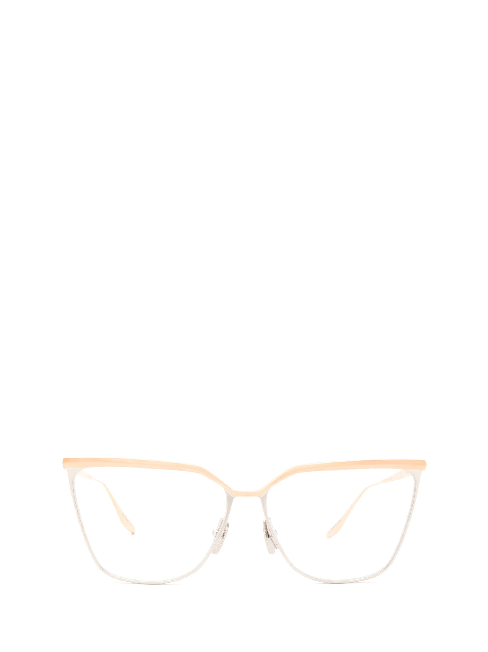 Dita Dita Dtx140-a-02-z Rose Gold & Silver Glasses
