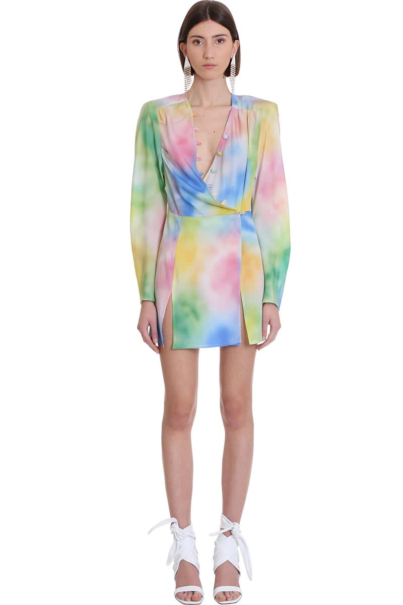Buy The Attico Dress In Multicolor Cotton online, shop The Attico with free shipping