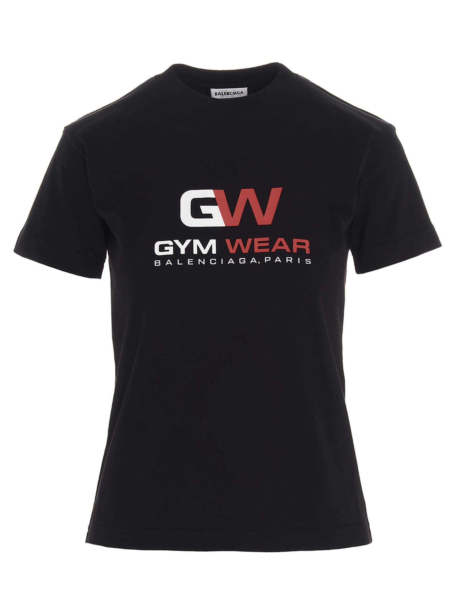 Balenciaga gym Wear T-shirt