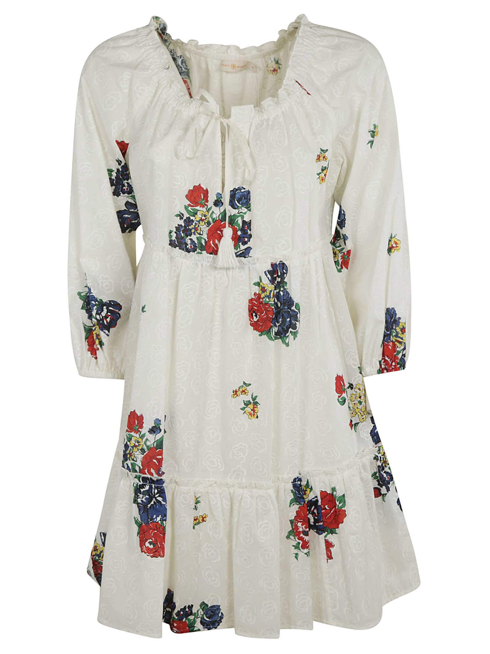 Buy Tory Burch Embroidered Beach Dress online, shop Tory Burch with free shipping