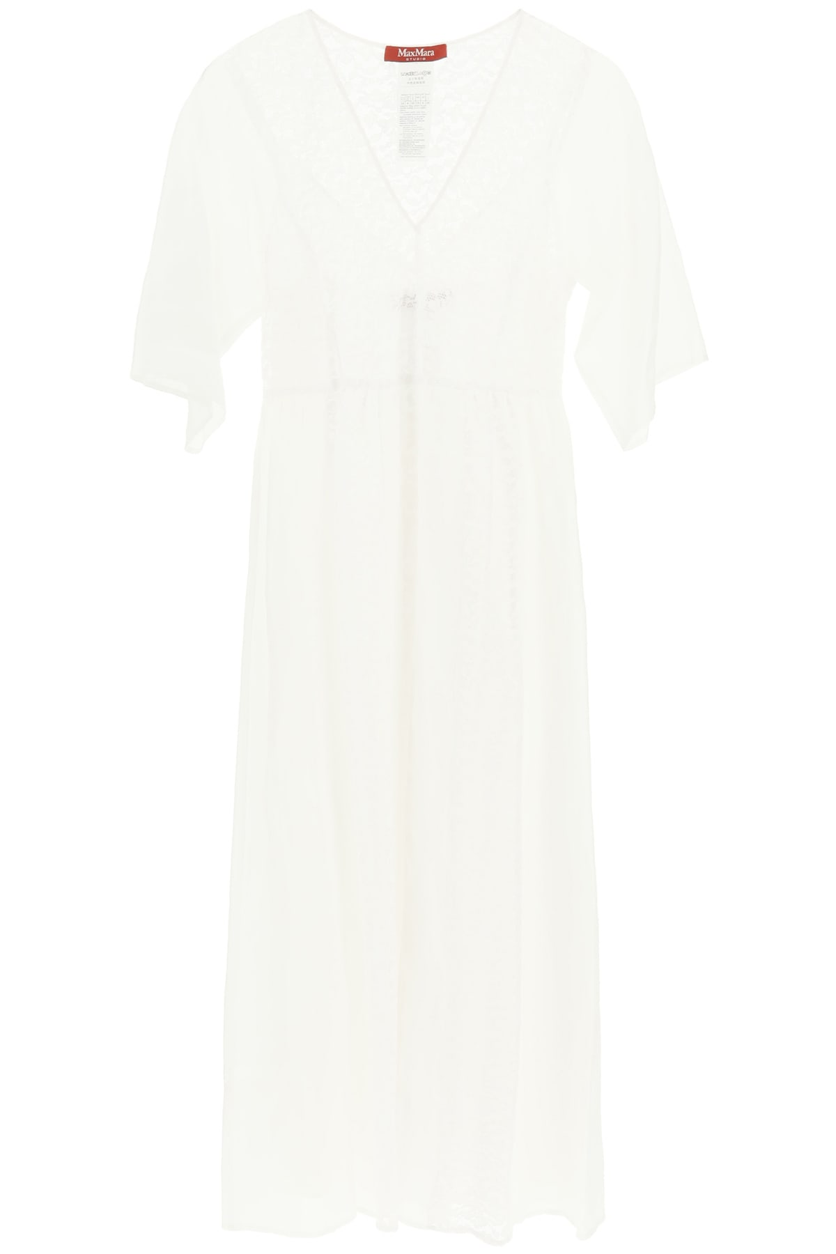 Max Mara Maxi dresses LONG DRESS WITH LACE INSERTS