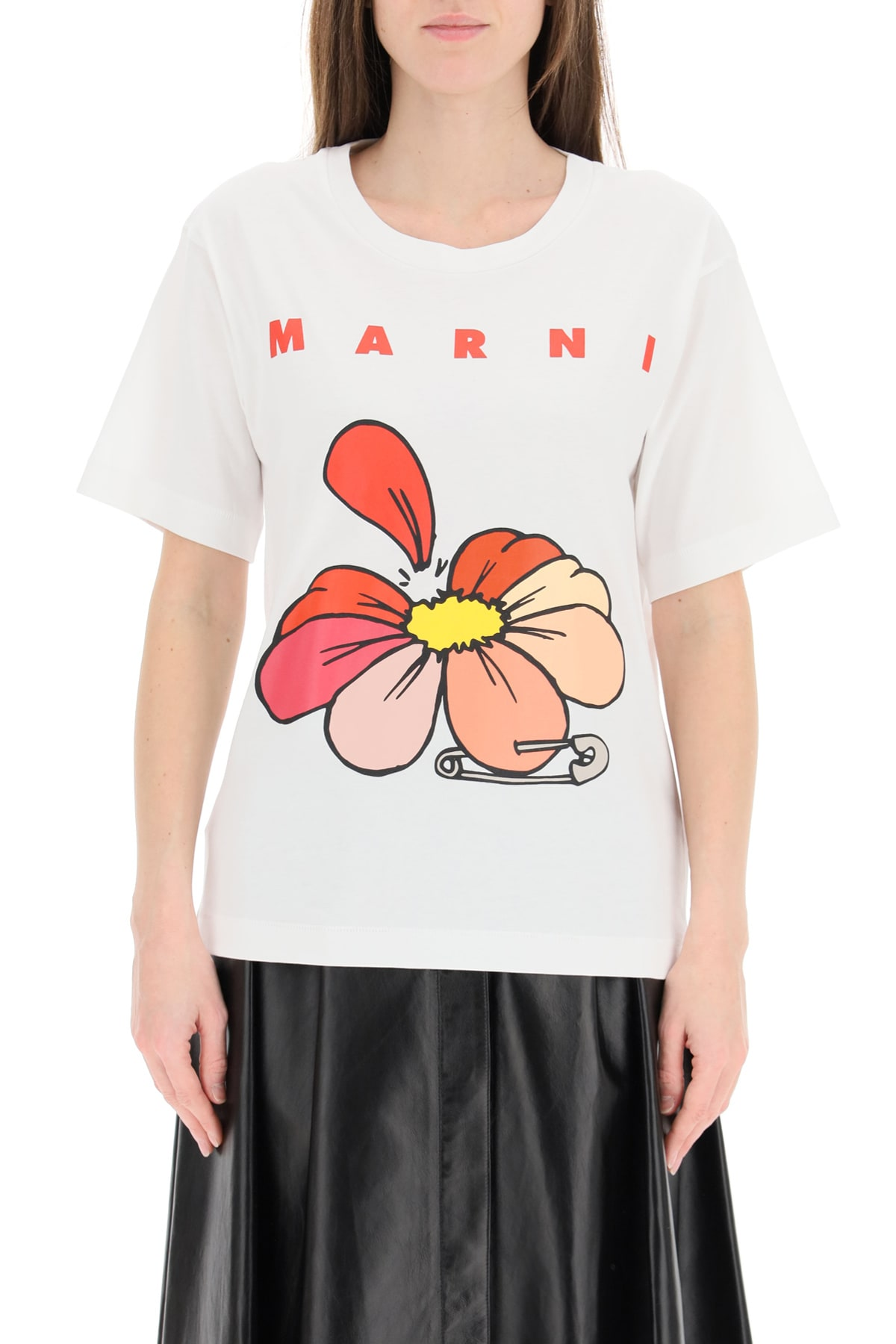 Marni FLOWERS T-SHIRT