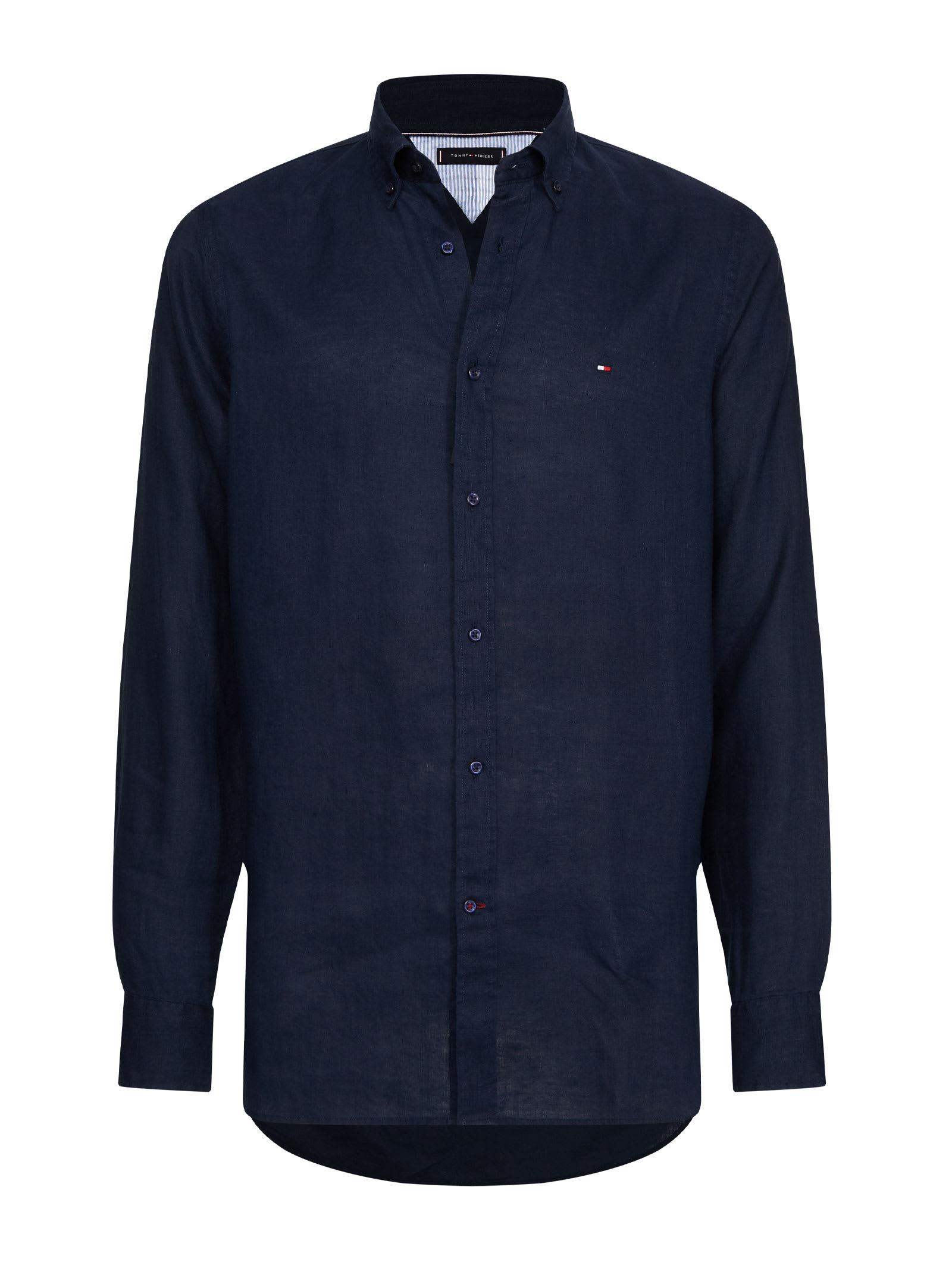 Tommy Hilfiger Tommy Hilfiger Button Down Linen Shirt