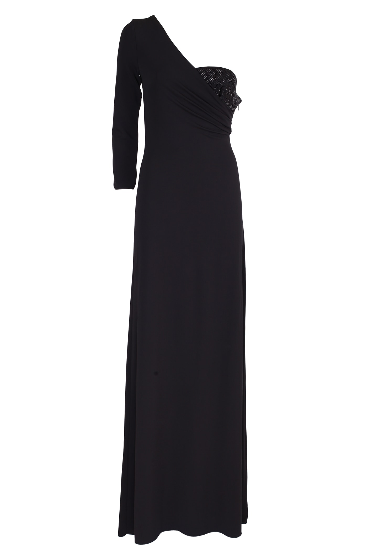 Emporio Armani long shoulder dress