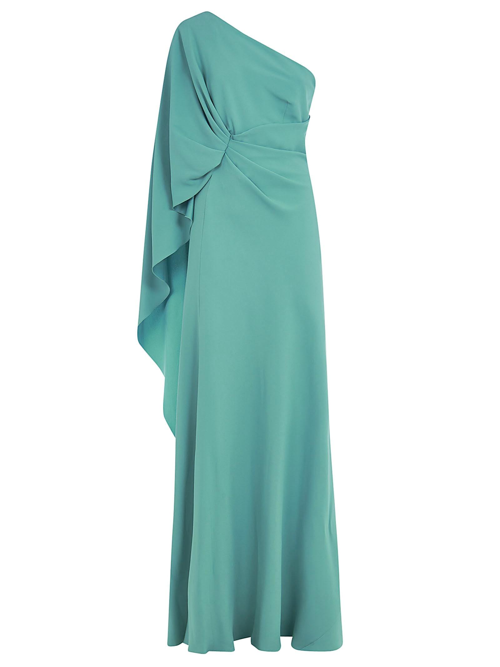 Buy Alberta Ferretti One-sleeve Maxi Dress online, shop Alberta Ferretti with free shipping