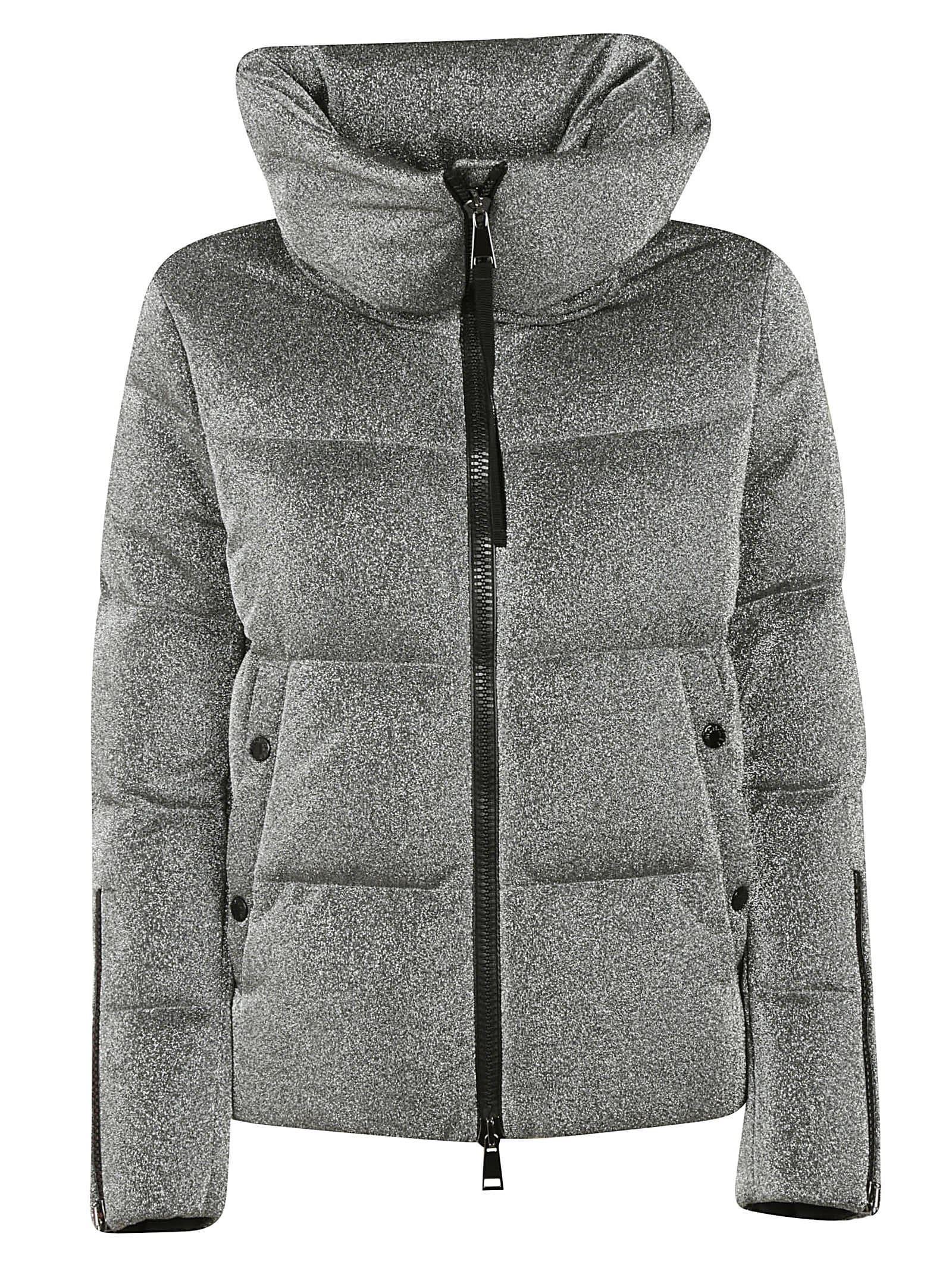 Moncler Bandama Large Neck Padded Jacket