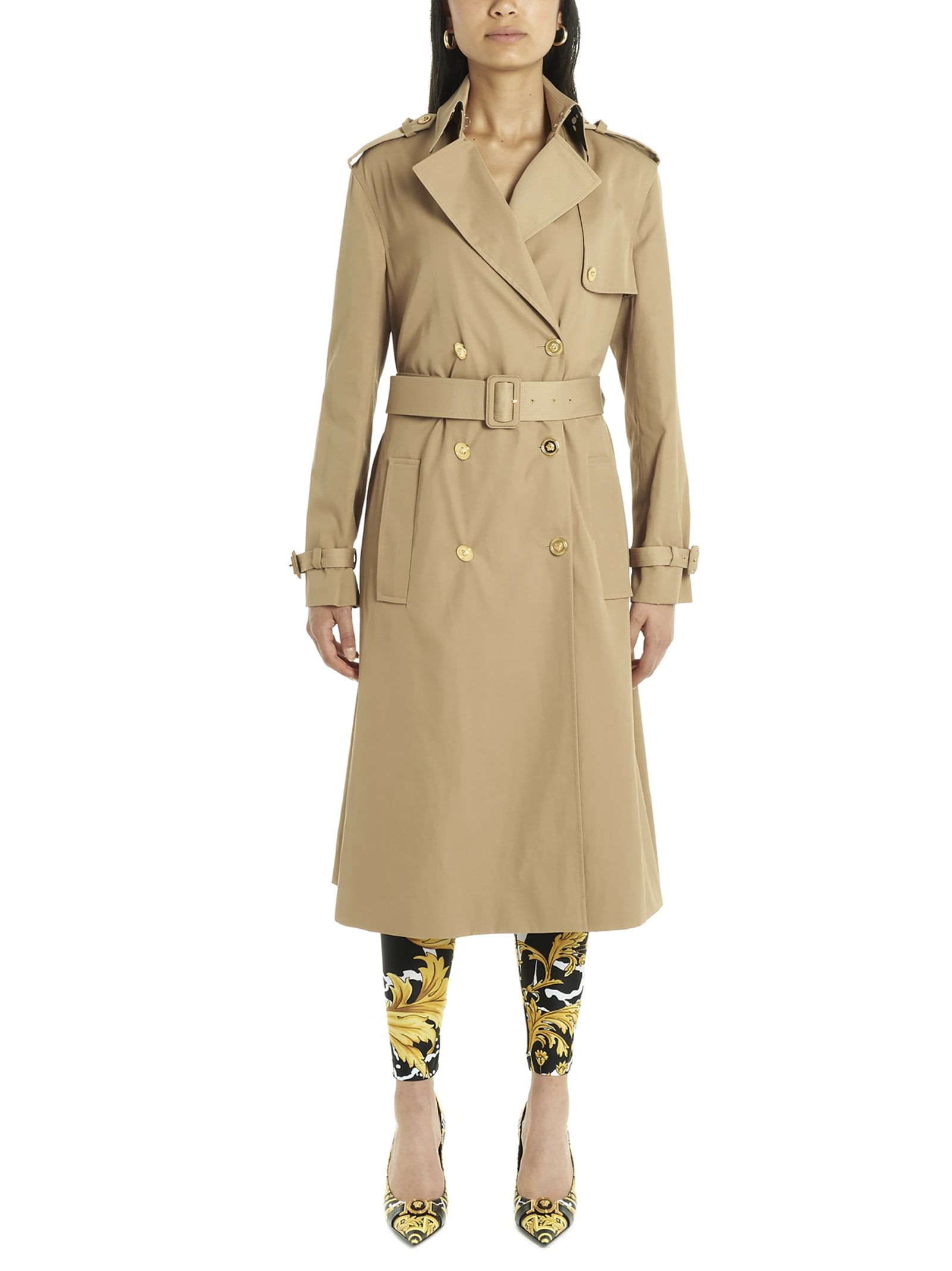 Versace wild Barocco Trench