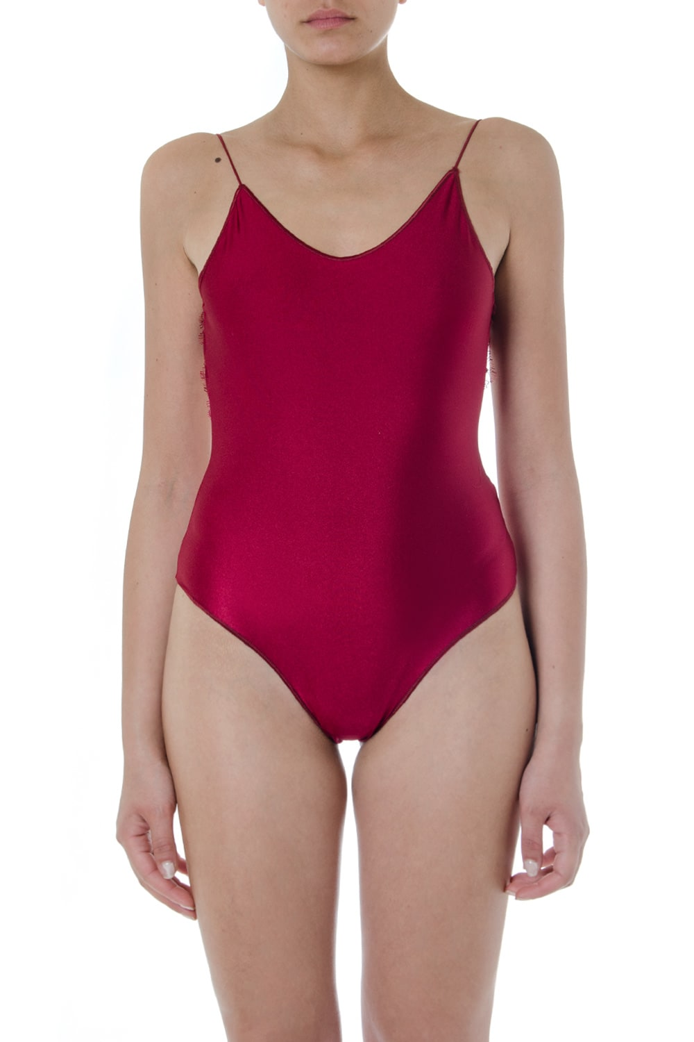 Oseree Red Travaille Swimsuit