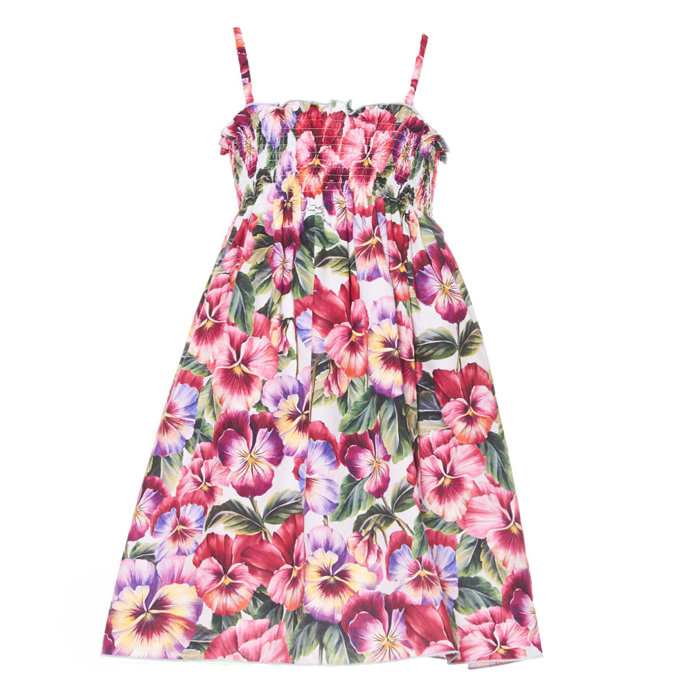 Buy Dolce & Gabbana Blooming Dress online, shop Dolce & Gabbana with free shipping