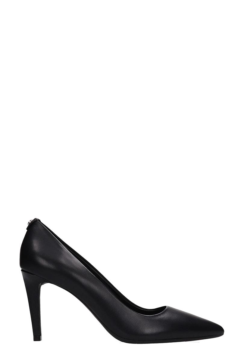 Michael Kors Black Leather Dorothy Pump