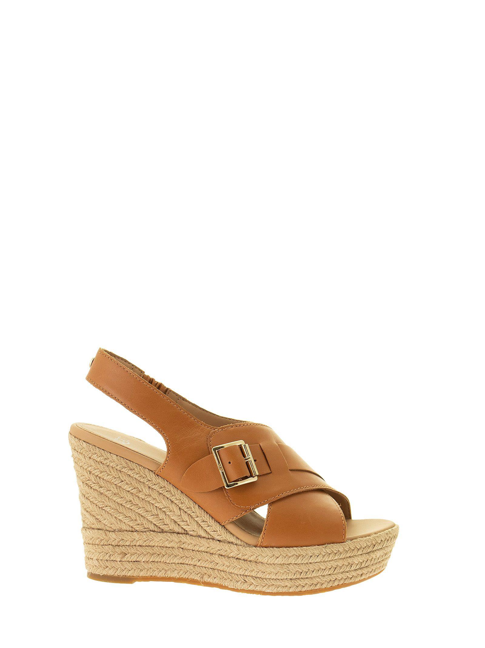 UGG Claudeene - Leather Sandal With Wedge
