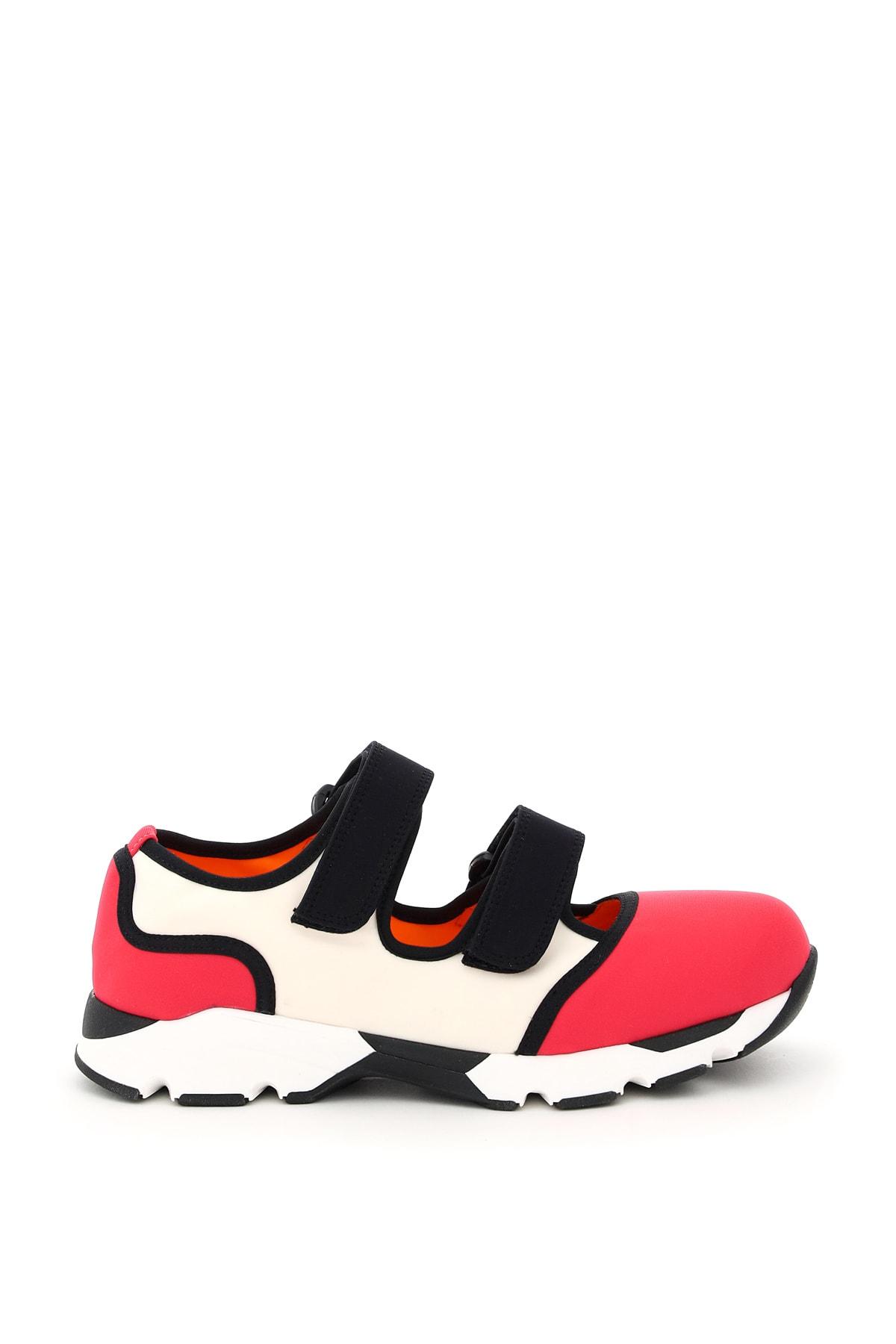 Marni Shoes MULTICOLOR DOUBLE STRAP SNEAKERS