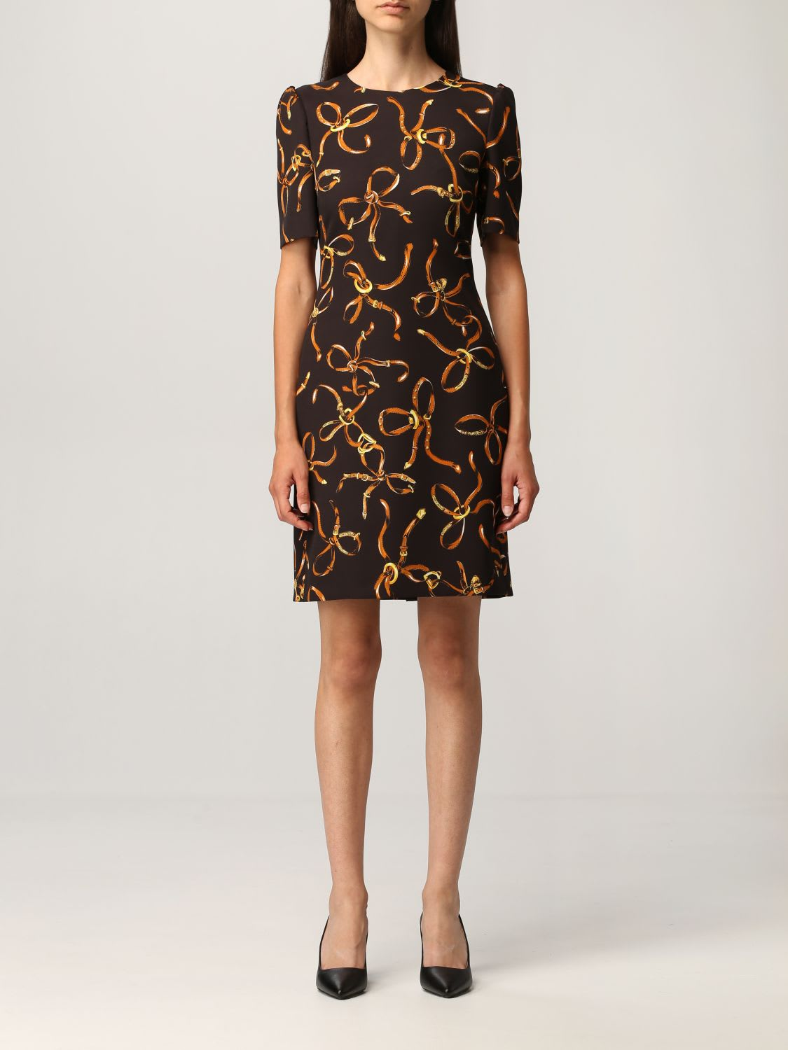 Boutique Moschino Dress Moschino Boutique Short Dress With Print