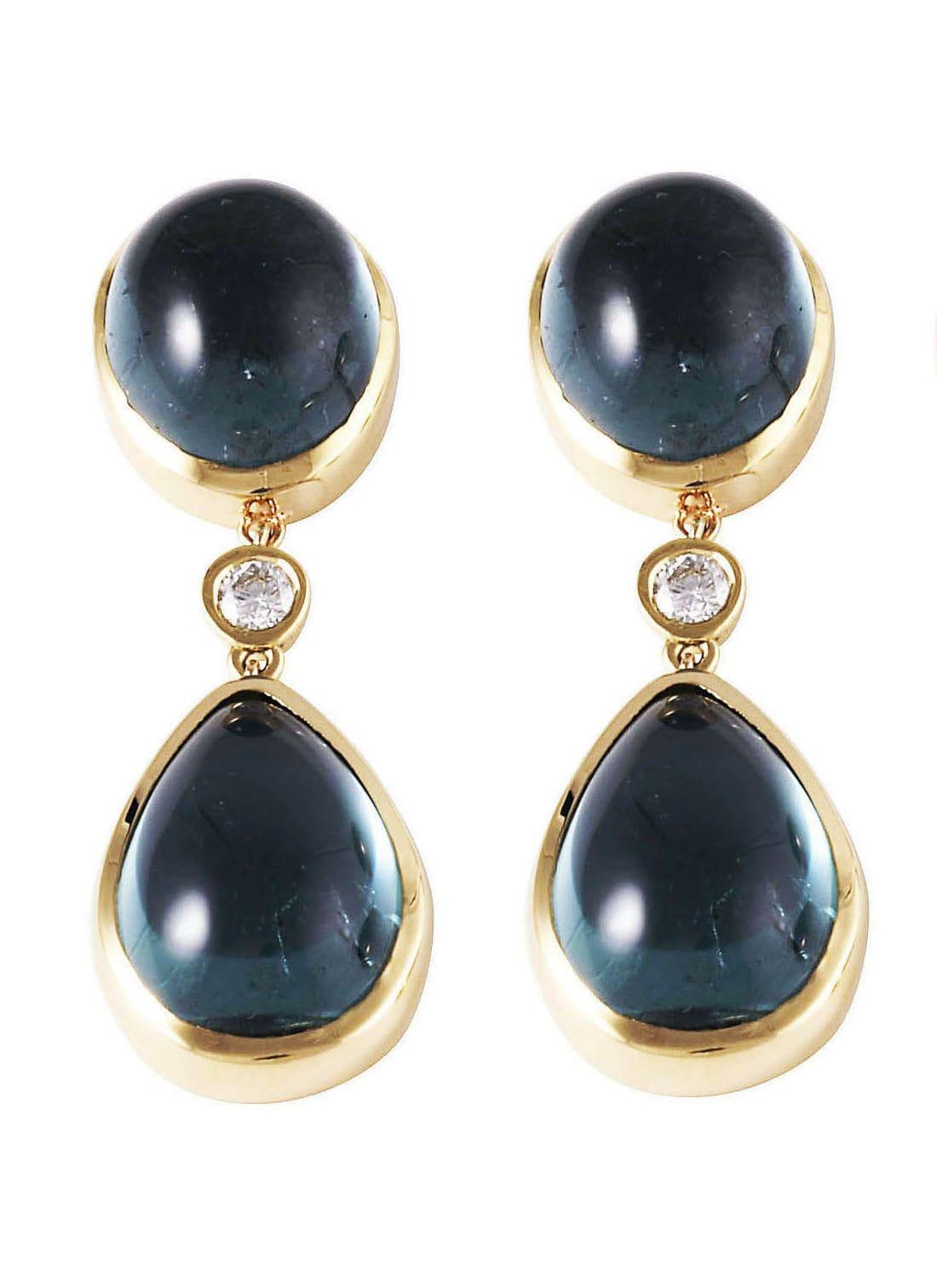 Lo Spazio Eden Rock Blu Earrings