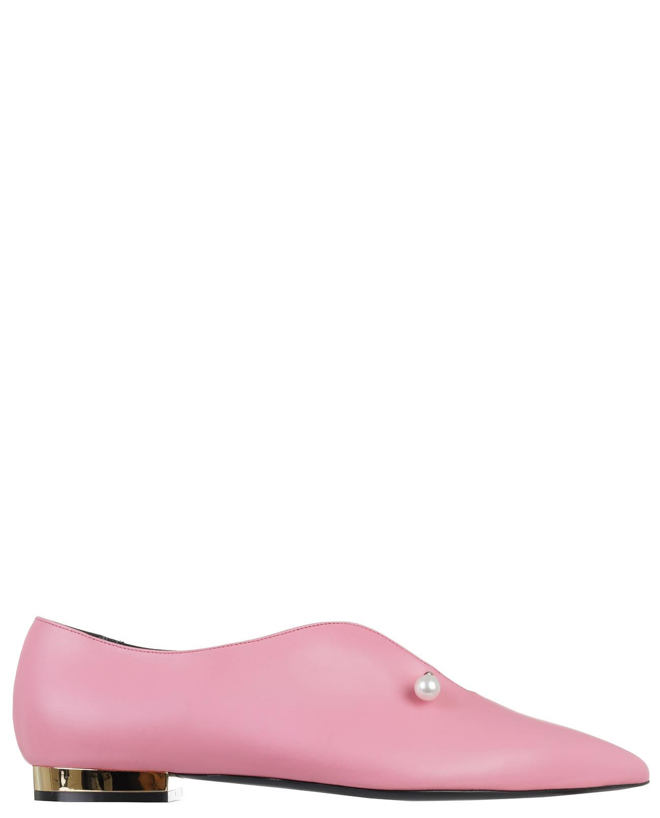 Pink Giada Flats