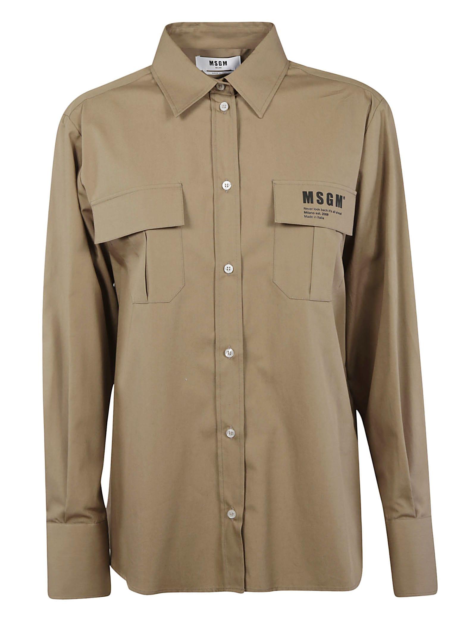 Double Chest Pocket Shirt